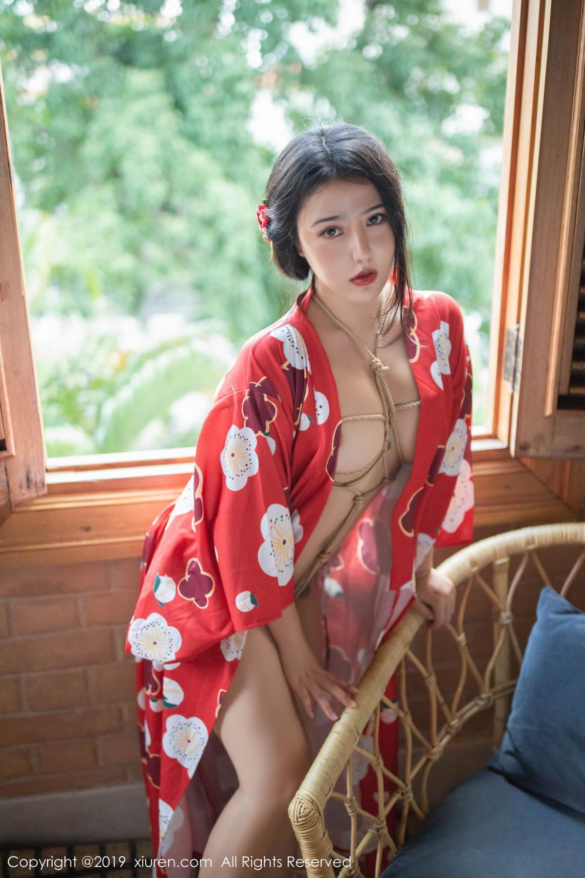 [XiuRen] Vol.1492 Ma Lu Na 27P, Adult, Kimono, Ma Lu Na, Xiuren