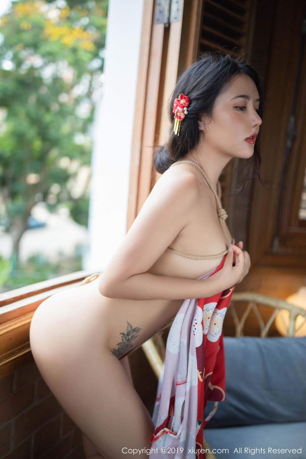 [XiuRen] Vol.1492 Ma Lu Na 42P, Adult, Kimono, Ma Lu Na, Xiuren