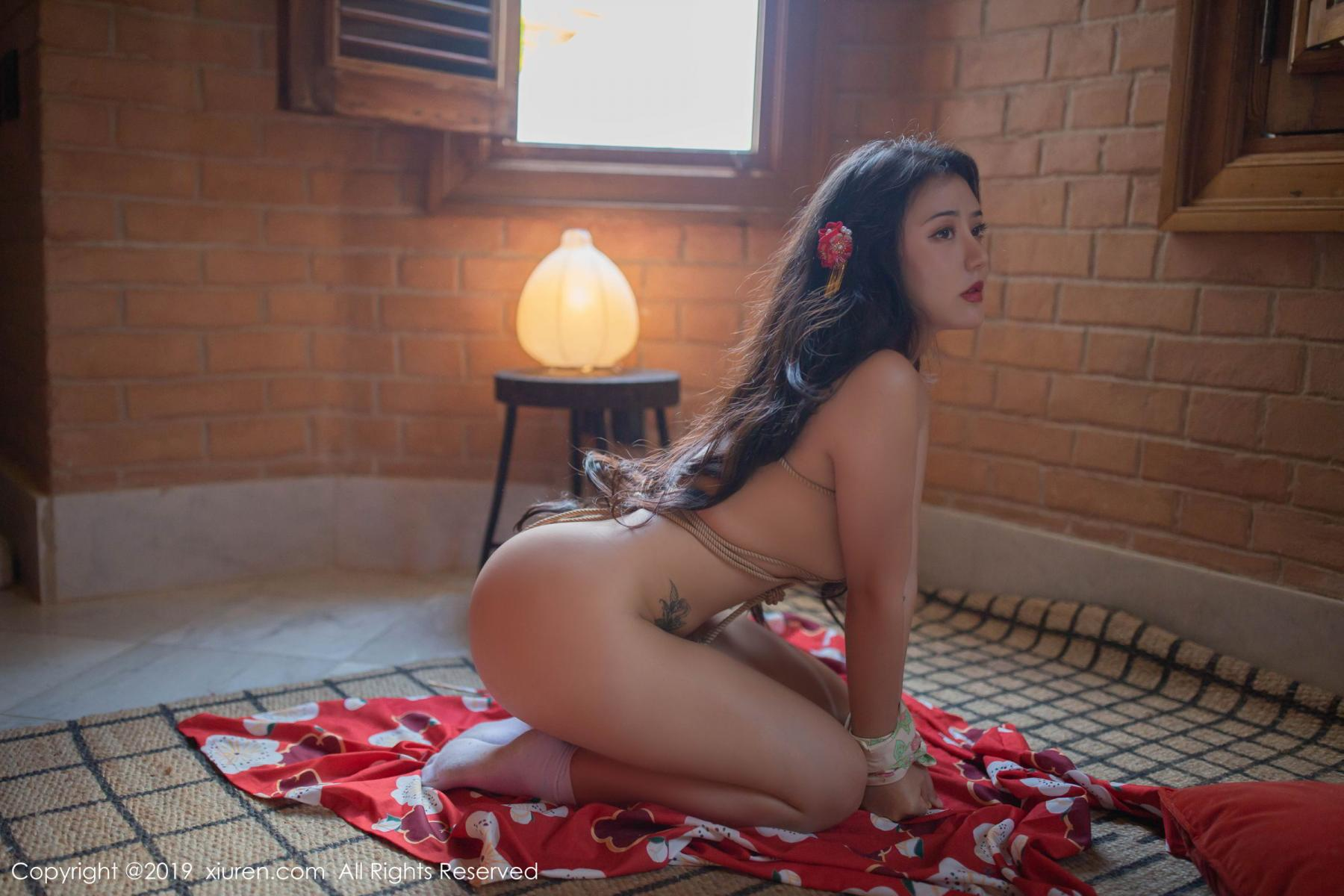 [XiuRen] Vol.1492 Ma Lu Na 50P, Adult, Kimono, Ma Lu Na, Xiuren