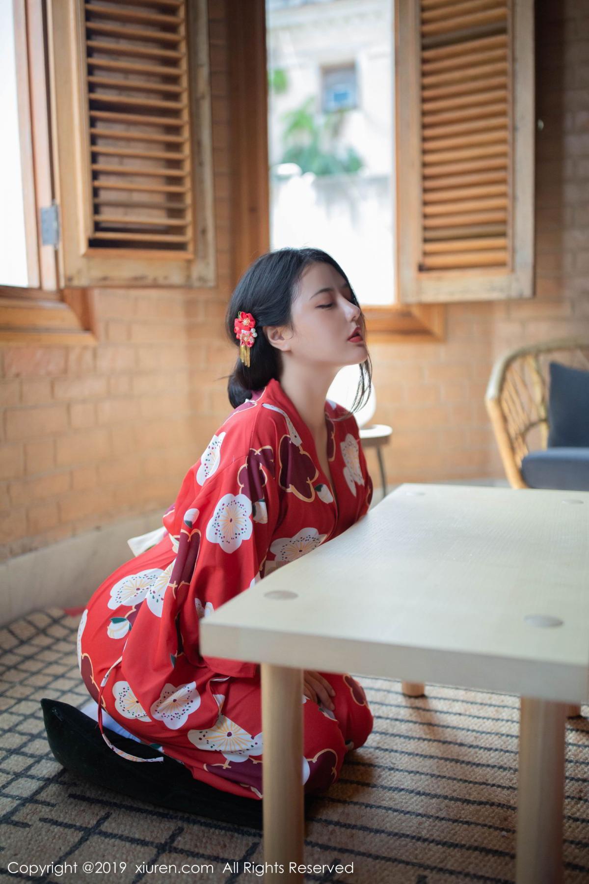 [XiuRen] Vol.1492 Ma Lu Na 5P, Adult, Kimono, Ma Lu Na, Xiuren