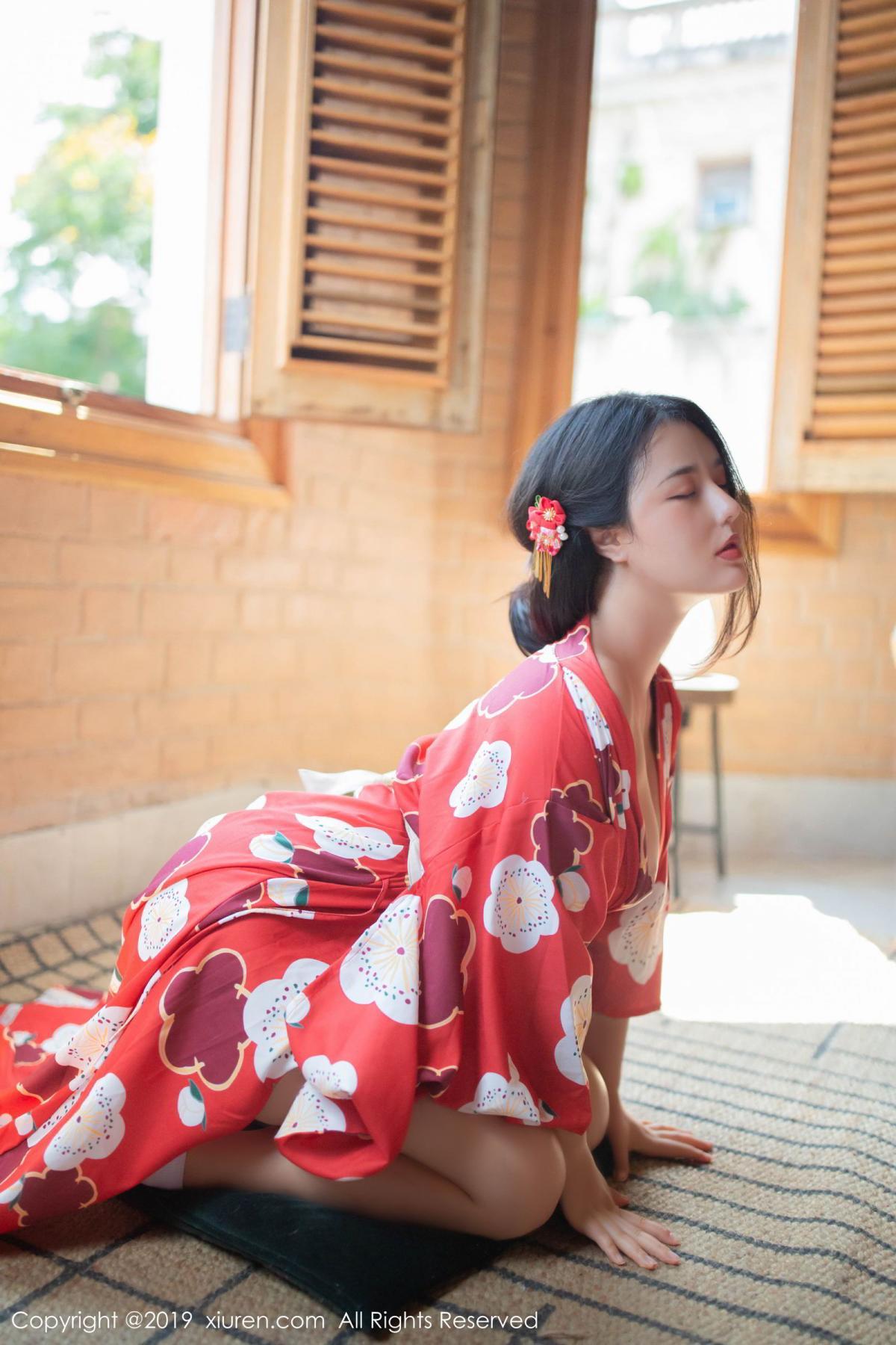 [XiuRen] Vol.1492 Ma Lu Na 8P, Adult, Kimono, Ma Lu Na, Xiuren
