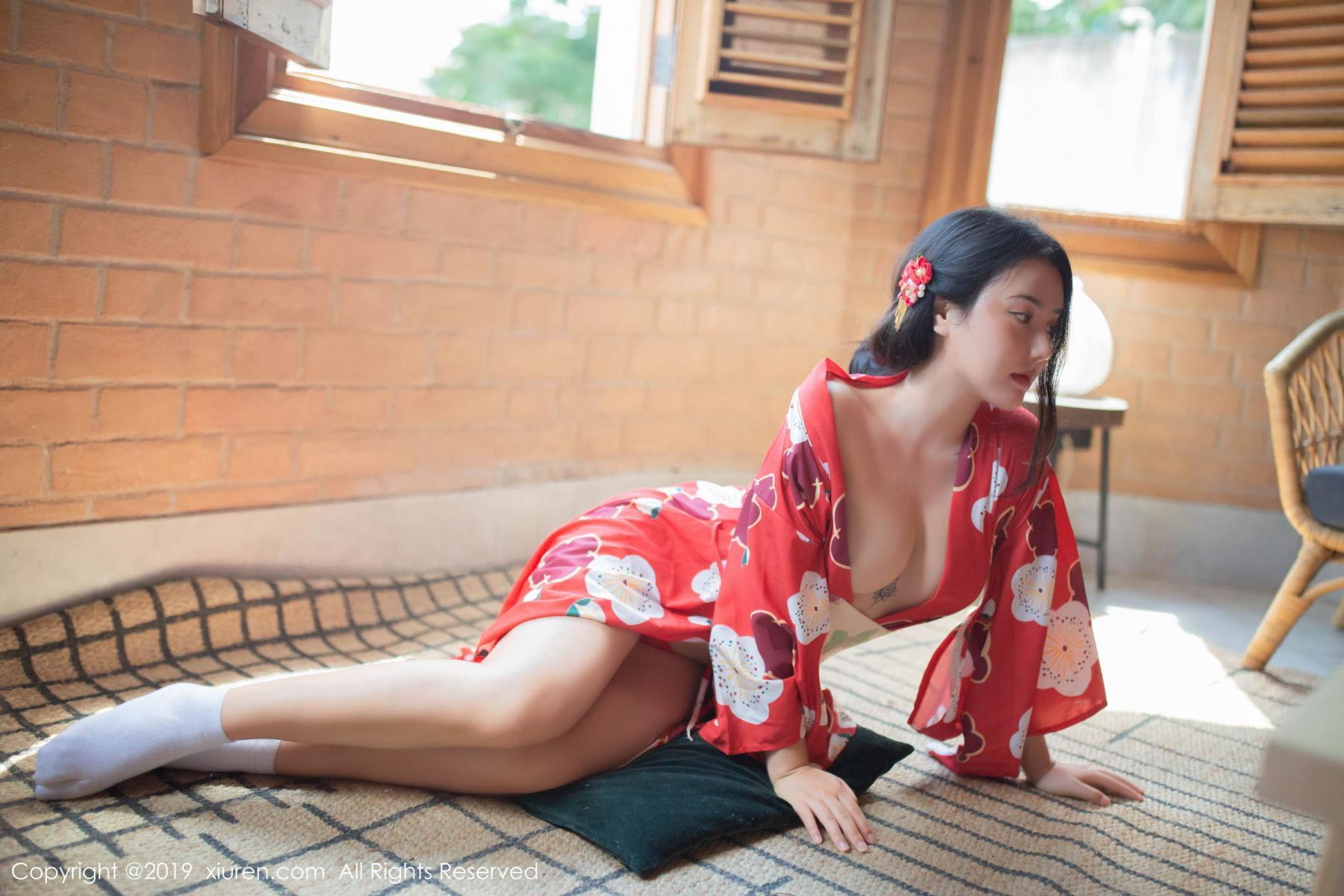 [XiuRen] Vol.1492 Ma Lu Na 9P, Adult, Kimono, Ma Lu Na, Xiuren
