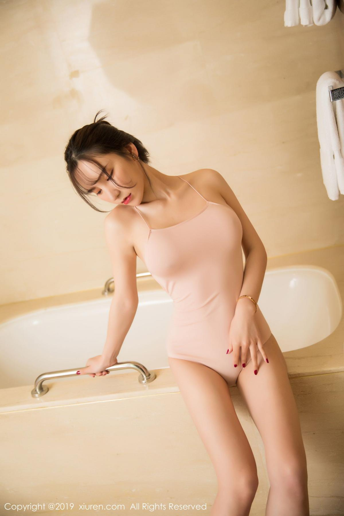 [XiuRen] Vol.1496 Zhou Yu Xi 14P, Bathroom, Xiuren, Zhou Yu Xi