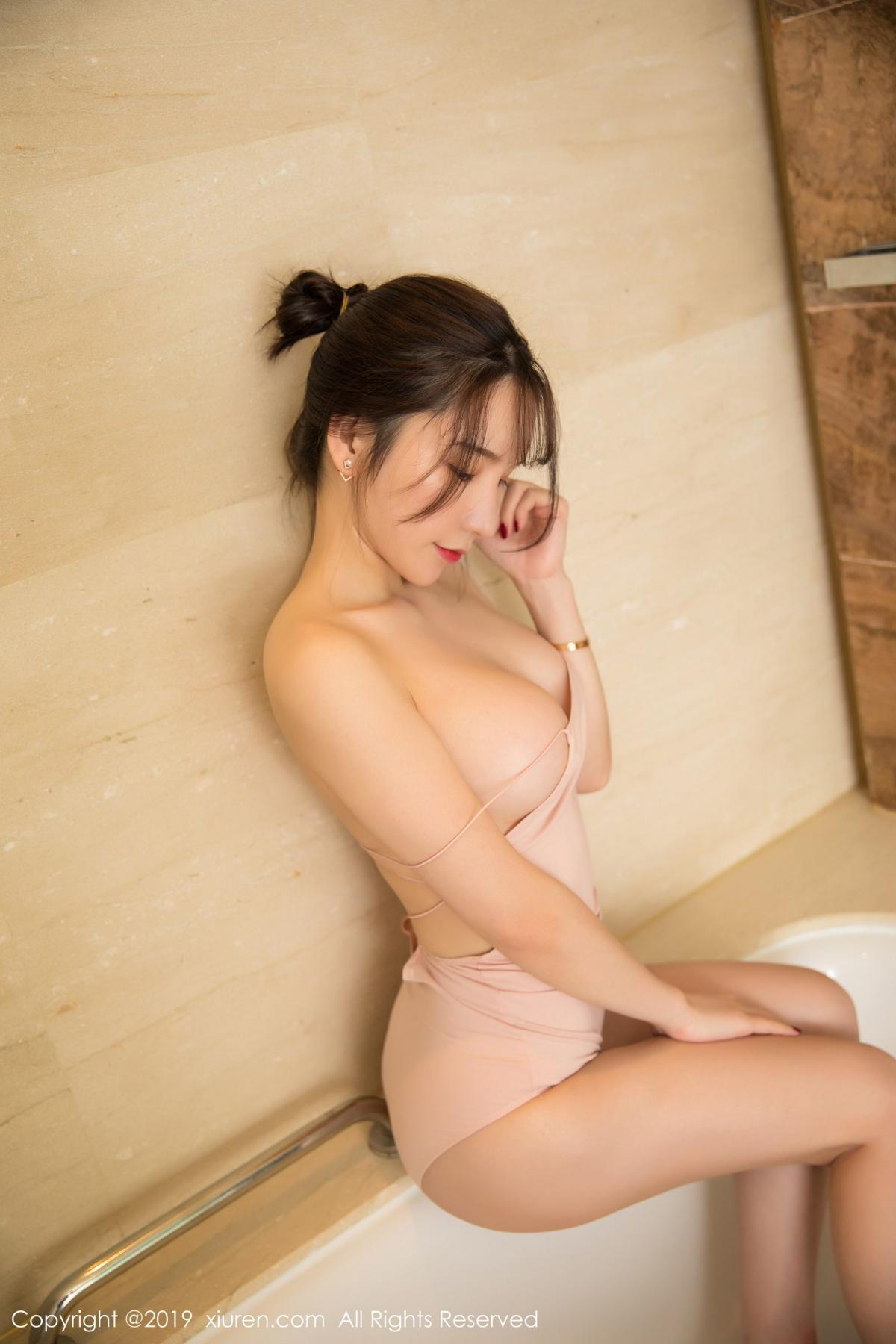 [XiuRen] Vol.1496 Zhou Yu Xi 45P, Bathroom, Xiuren, Zhou Yu Xi