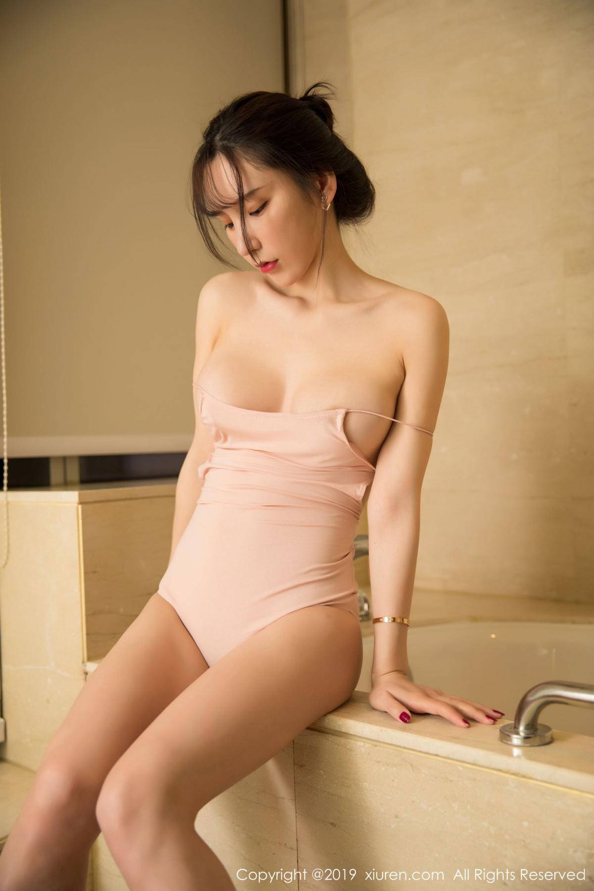 [XiuRen] Vol.1496 Zhou Yu Xi 5P, Bathroom, Xiuren, Zhou Yu Xi