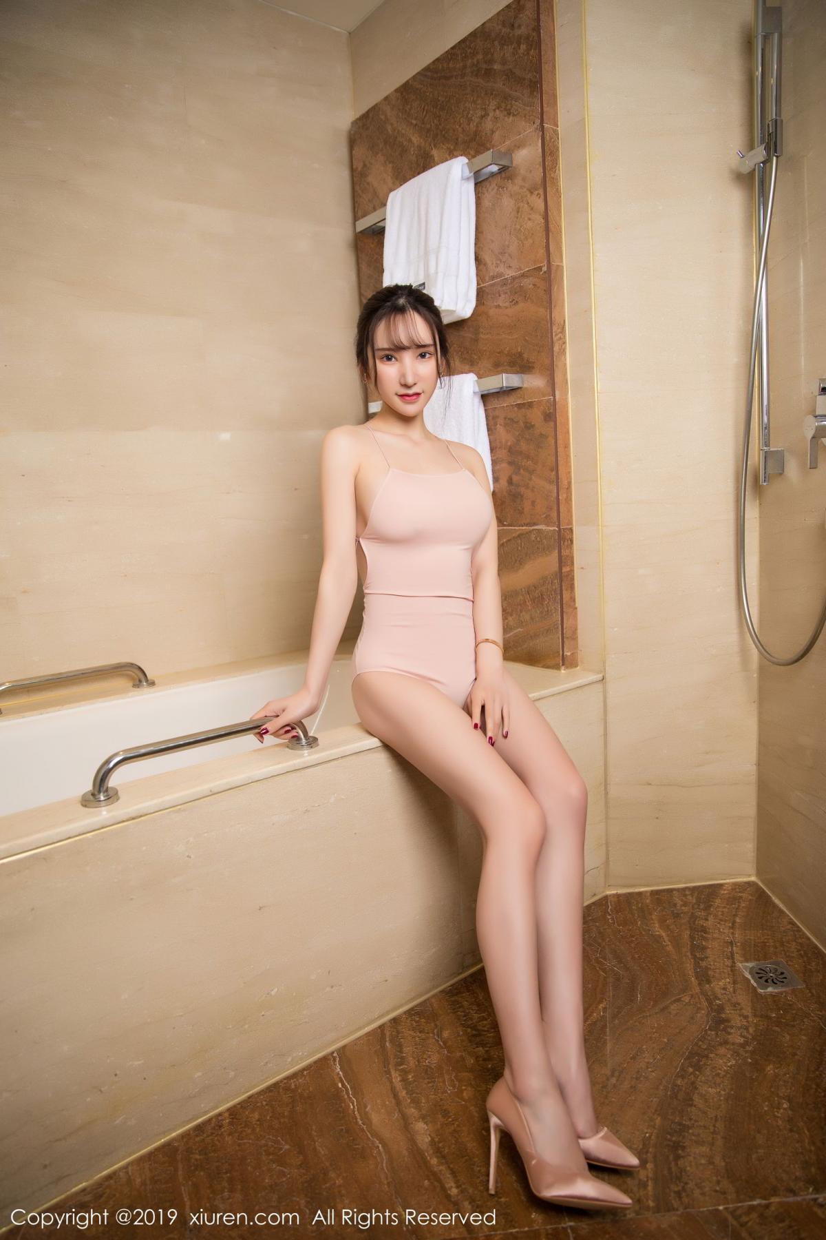 [XiuRen] Vol.1496 Zhou Yu Xi 6P, Bathroom, Xiuren, Zhou Yu Xi
