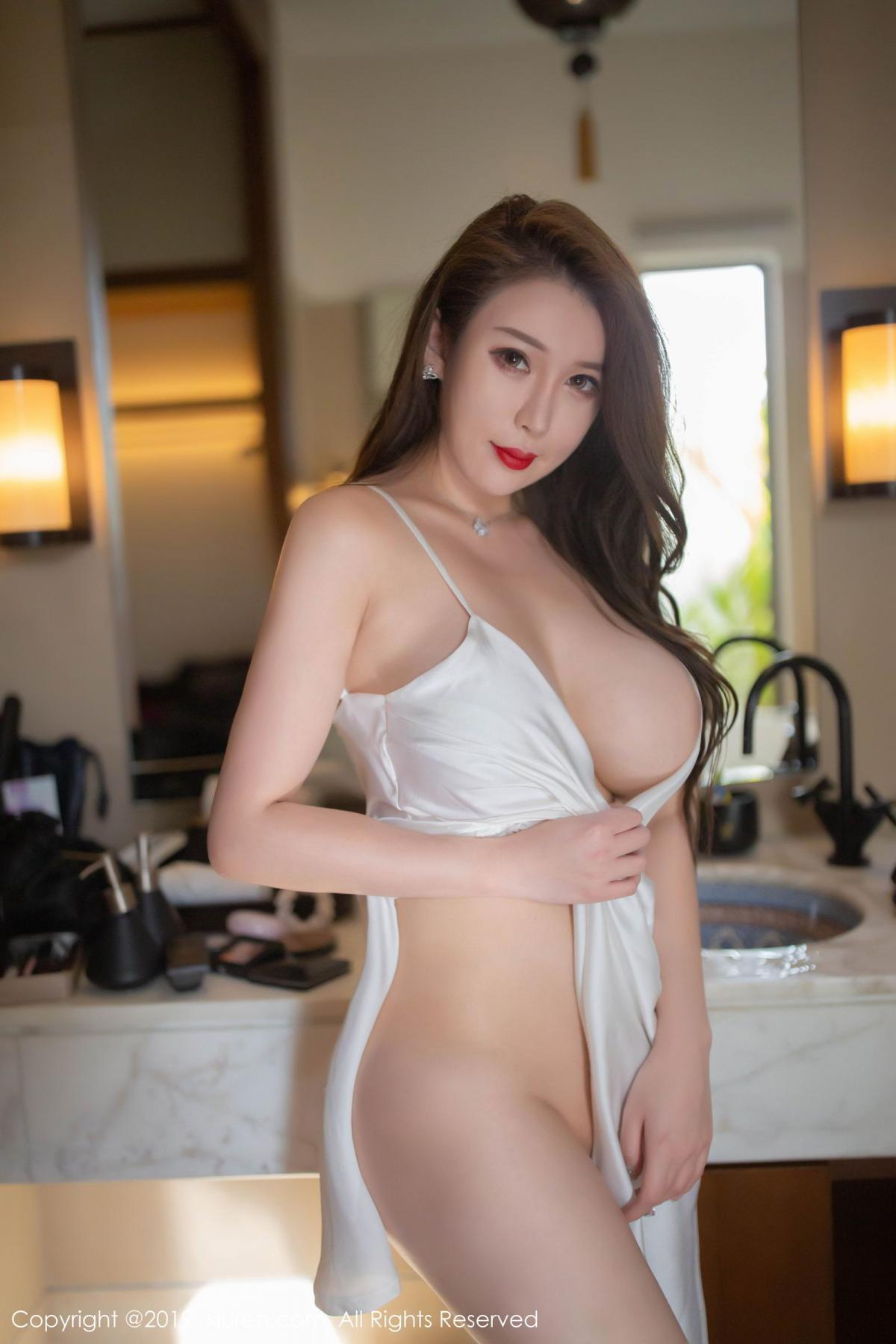 [XiuRen] Vol.1510 Egg Younisi 18P, Bathroom, Big Booty, Egg Younisi, Wet, Xiuren