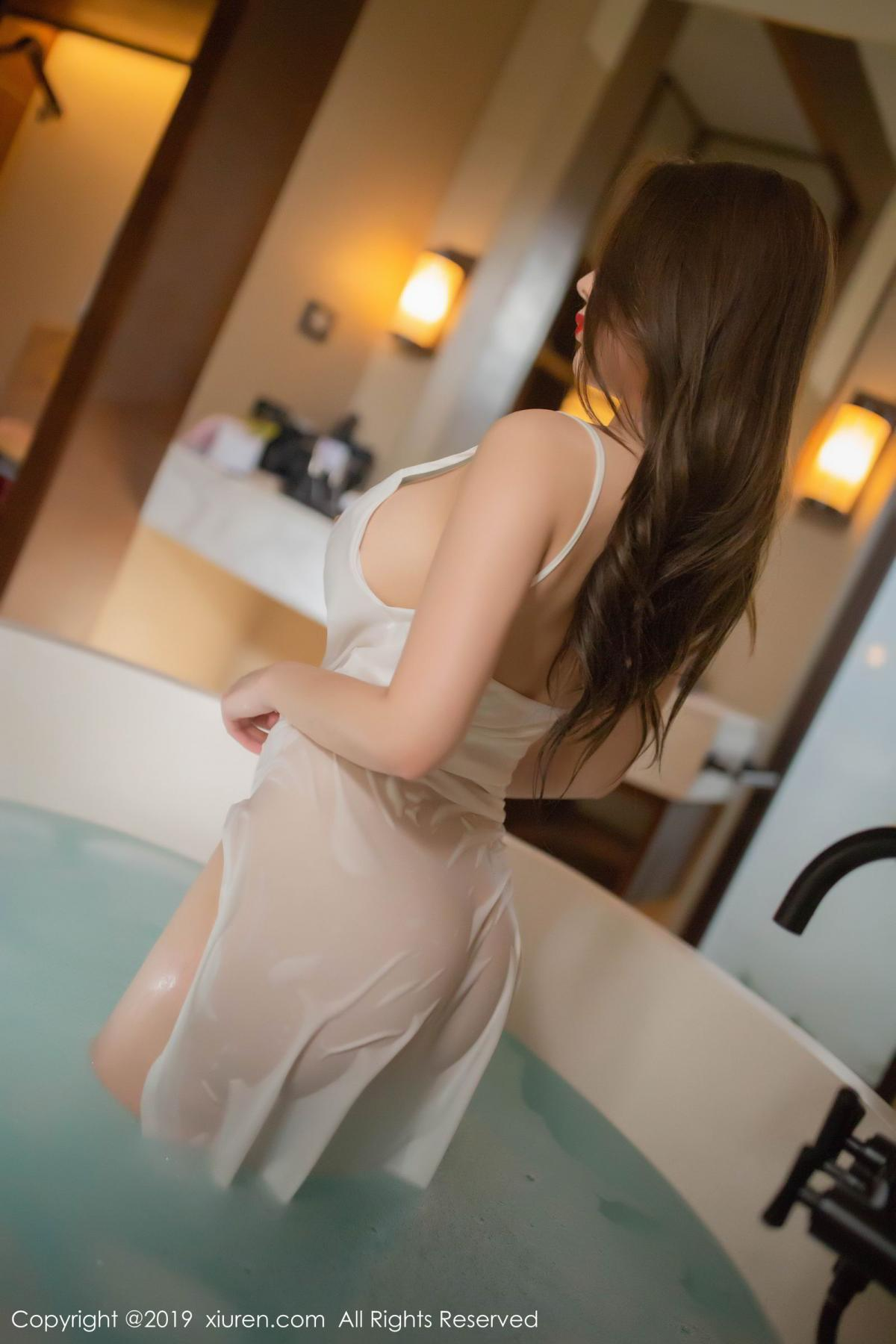 [XiuRen] Vol.1510 Egg Younisi 45P, Bathroom, Big Booty, Egg Younisi, Wet, Xiuren