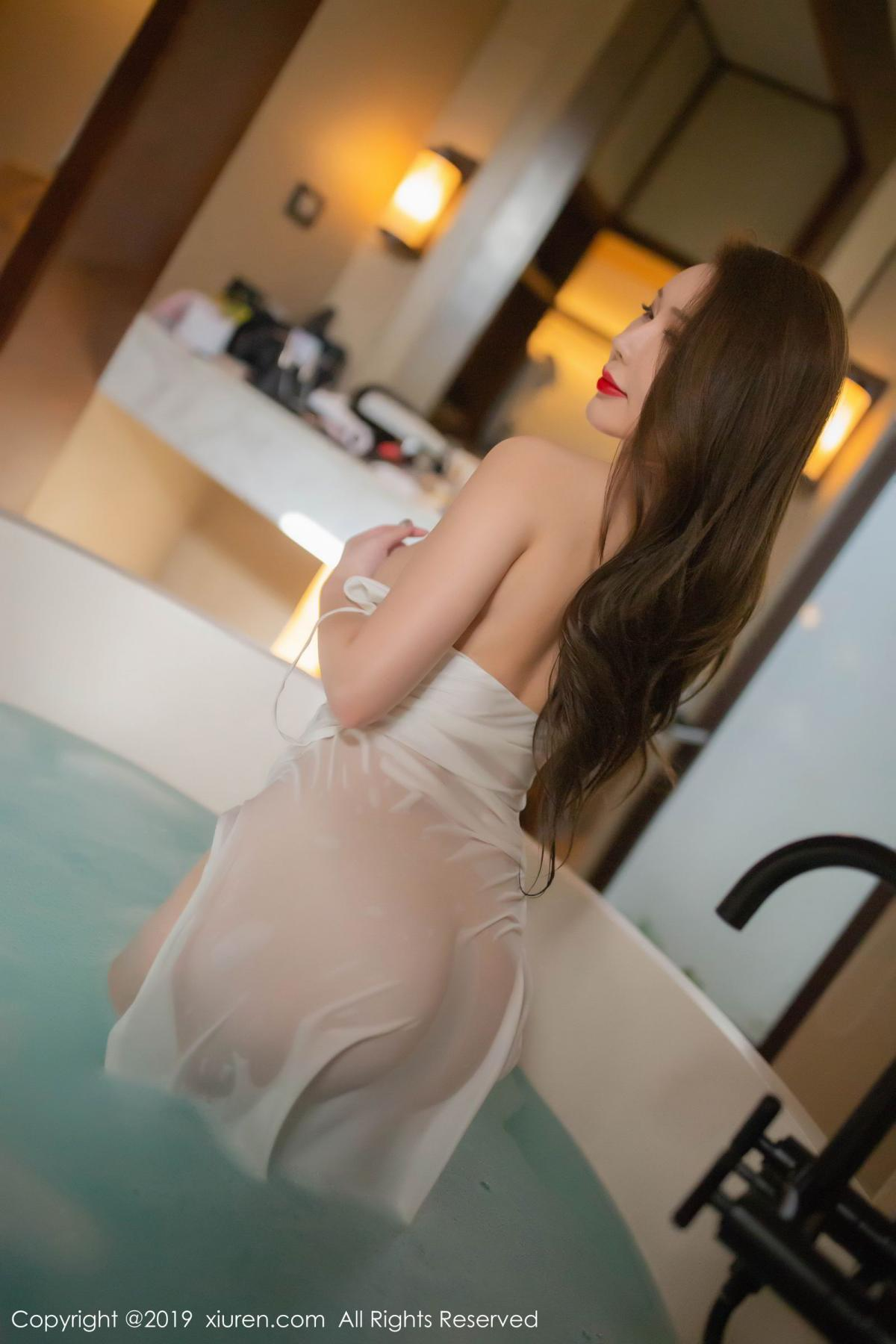 [XiuRen] Vol.1510 Egg Younisi 46P, Bathroom, Big Booty, Egg Younisi, Wet, Xiuren