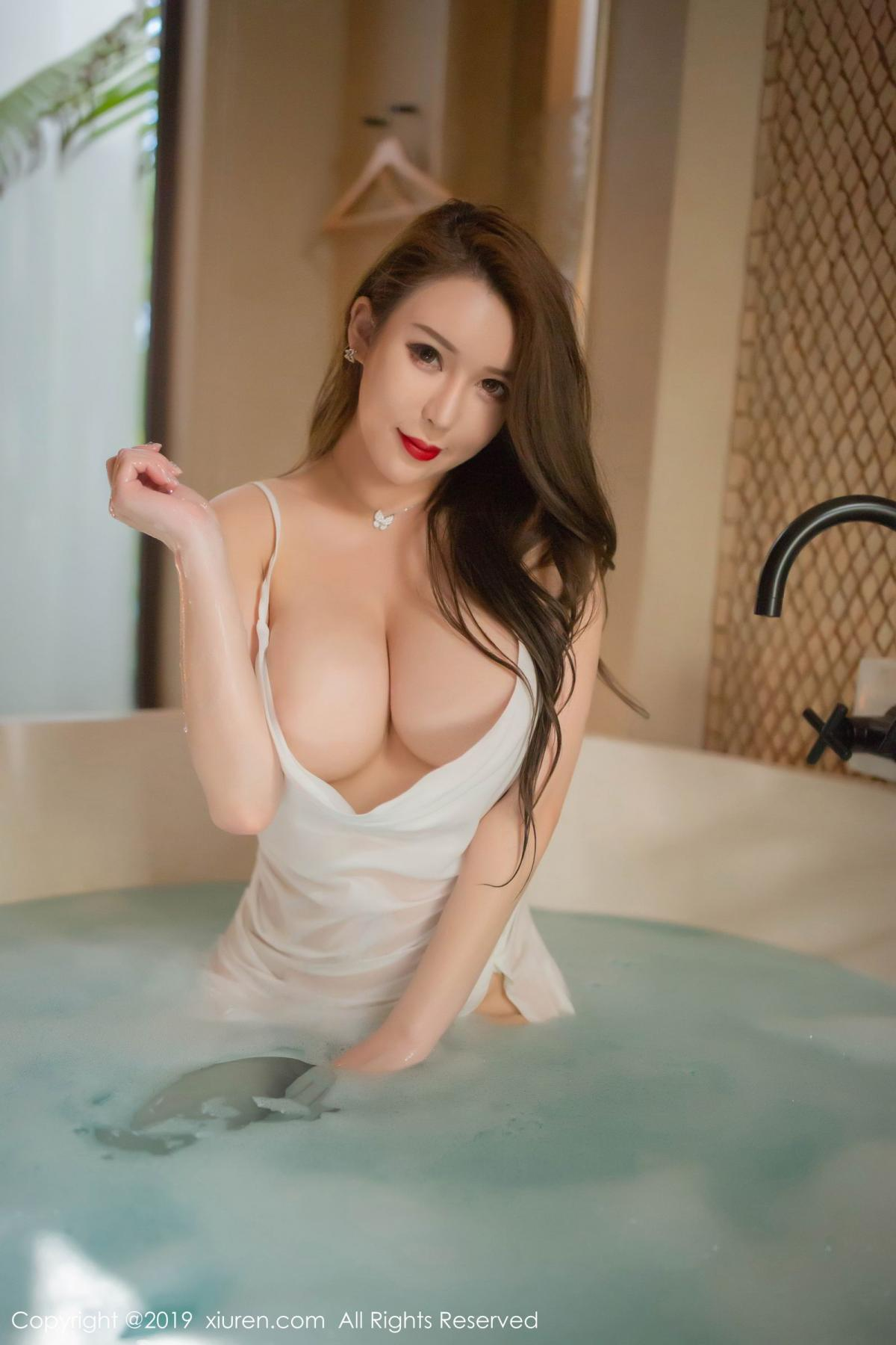 [XiuRen] Vol.1510 Egg Younisi 7P, Bathroom, Big Booty, Egg Younisi, Wet, Xiuren