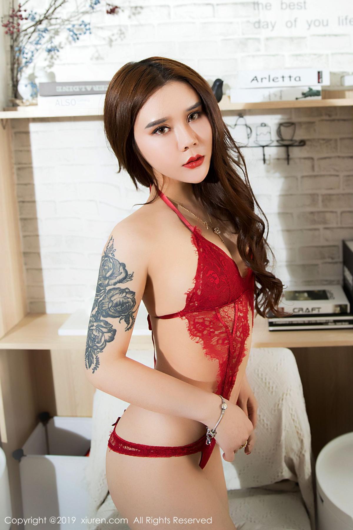 [XiuRen] Vol.1515 Ai Li Sha Lisa 12P, Ai Li Sha Lisa, Big Booty, Underwear, Xiuren