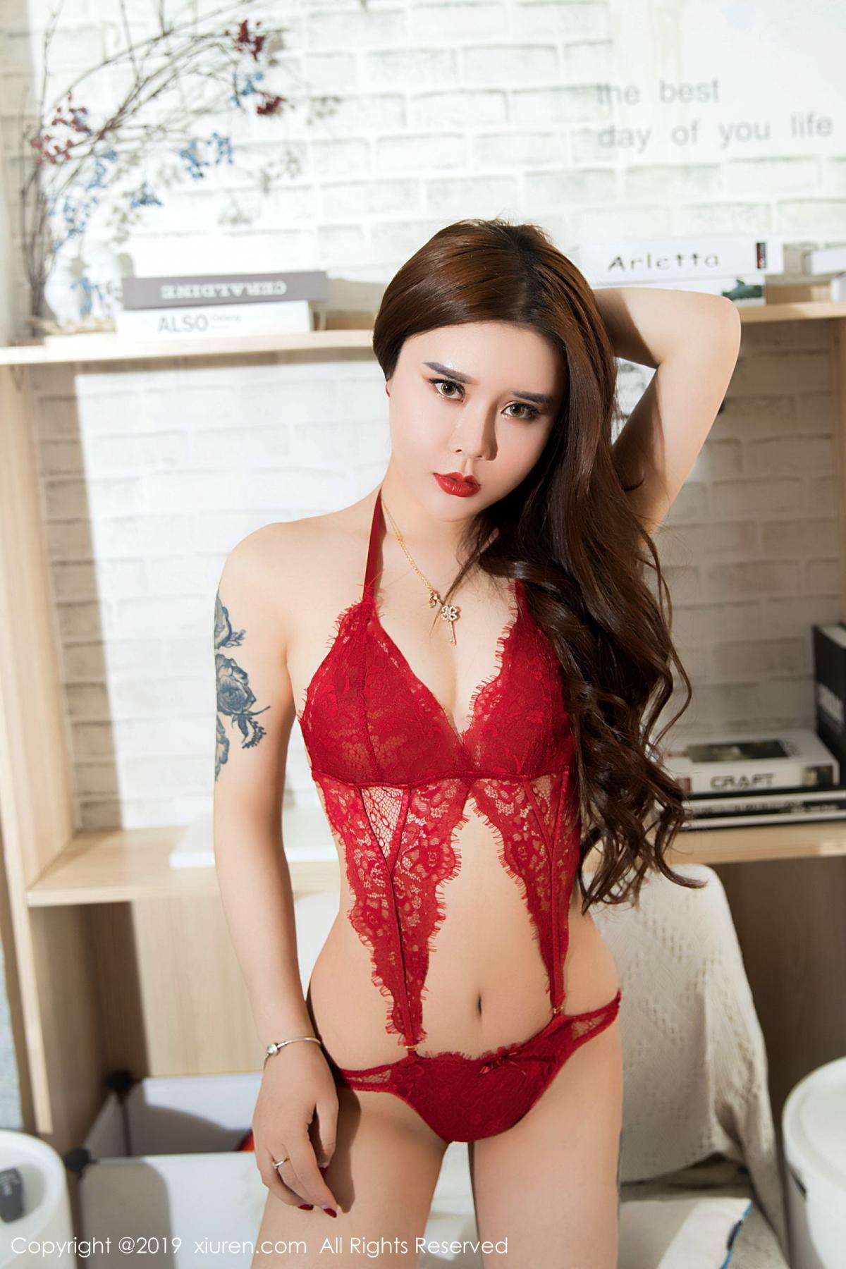 [XiuRen] Vol.1515 Ai Li Sha Lisa 13P, Ai Li Sha Lisa, Big Booty, Underwear, Xiuren