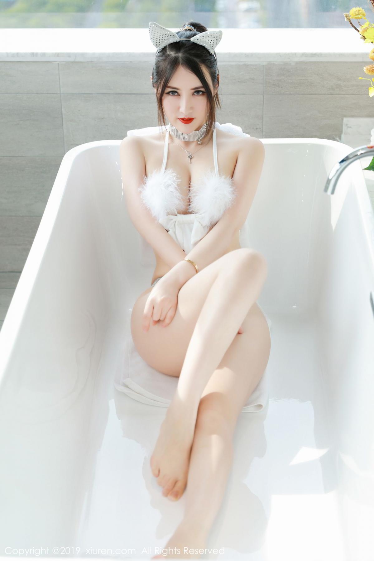 [XiuRen] Vol.1527 Chen Shi Shi 29P, Black Silk, Chen Shi Shi, Tall, Underwear, Xiuren
