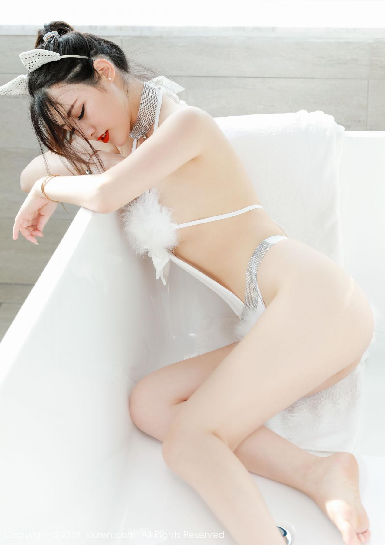 [XiuRen] Vol.1527 Chen Shi Shi 34P, Black Silk, Chen Shi Shi, Tall, Underwear, Xiuren