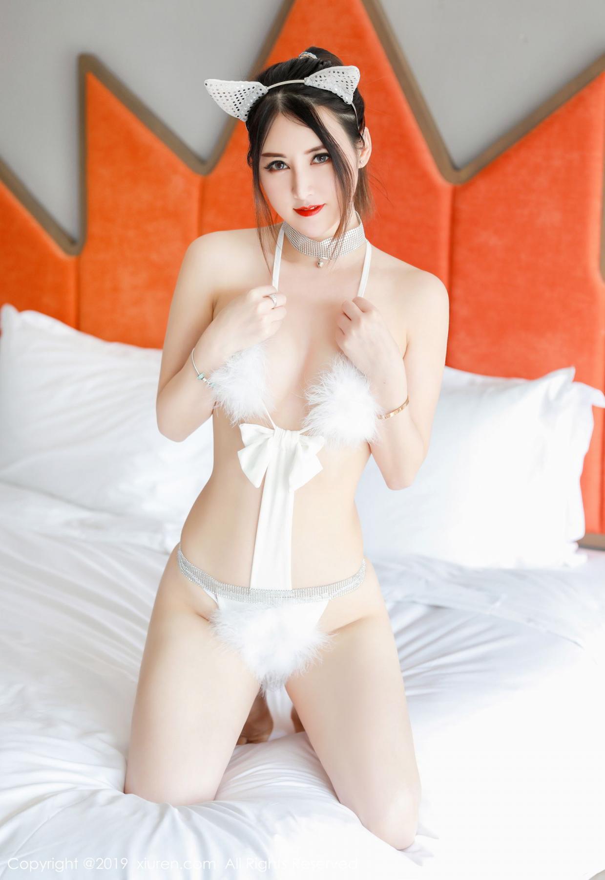 [XiuRen] Vol.1527 Chen Shi Shi 39P, Black Silk, Chen Shi Shi, Tall, Underwear, Xiuren