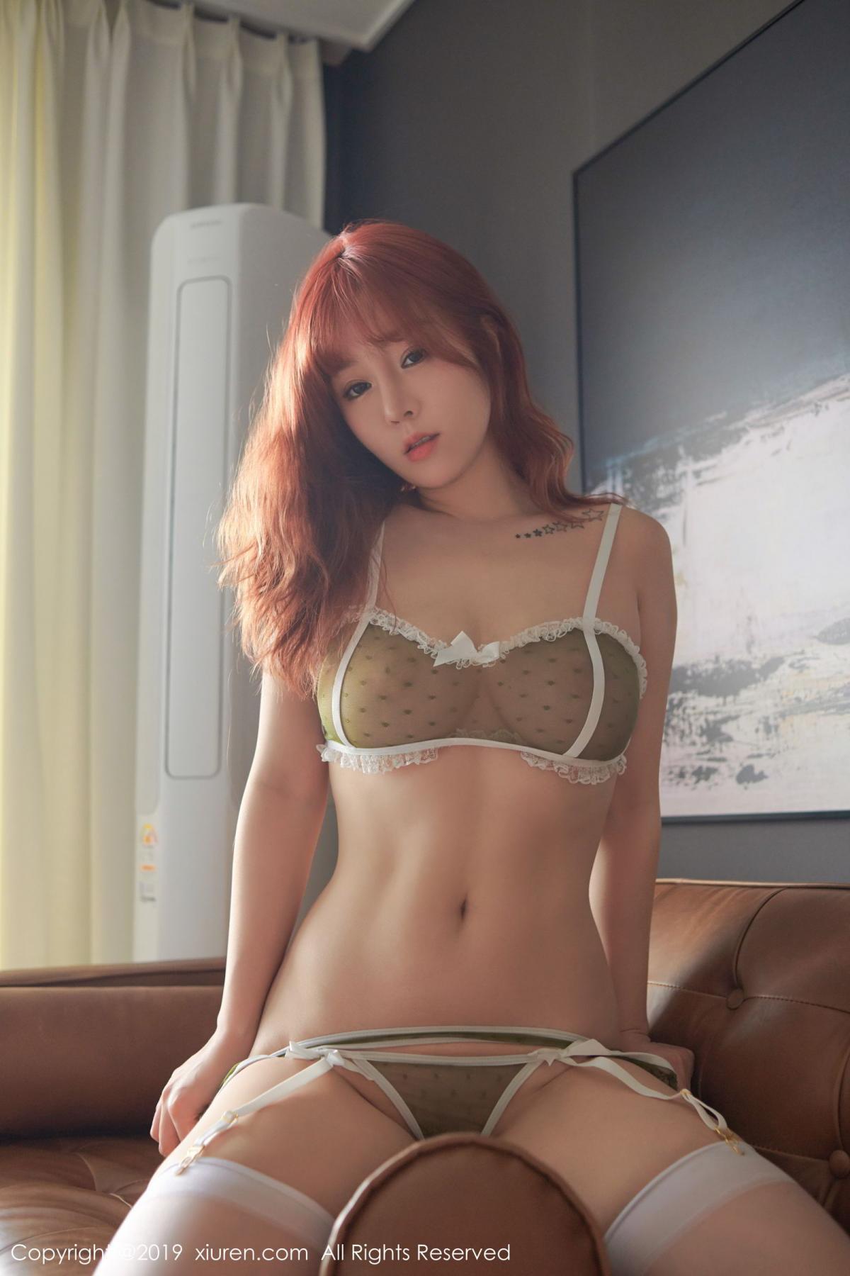 [XiuRen] Vol.1536 Wang Yu Chun 41P, Black Silk, Underwear, Wang Yu Chun, Xiuren