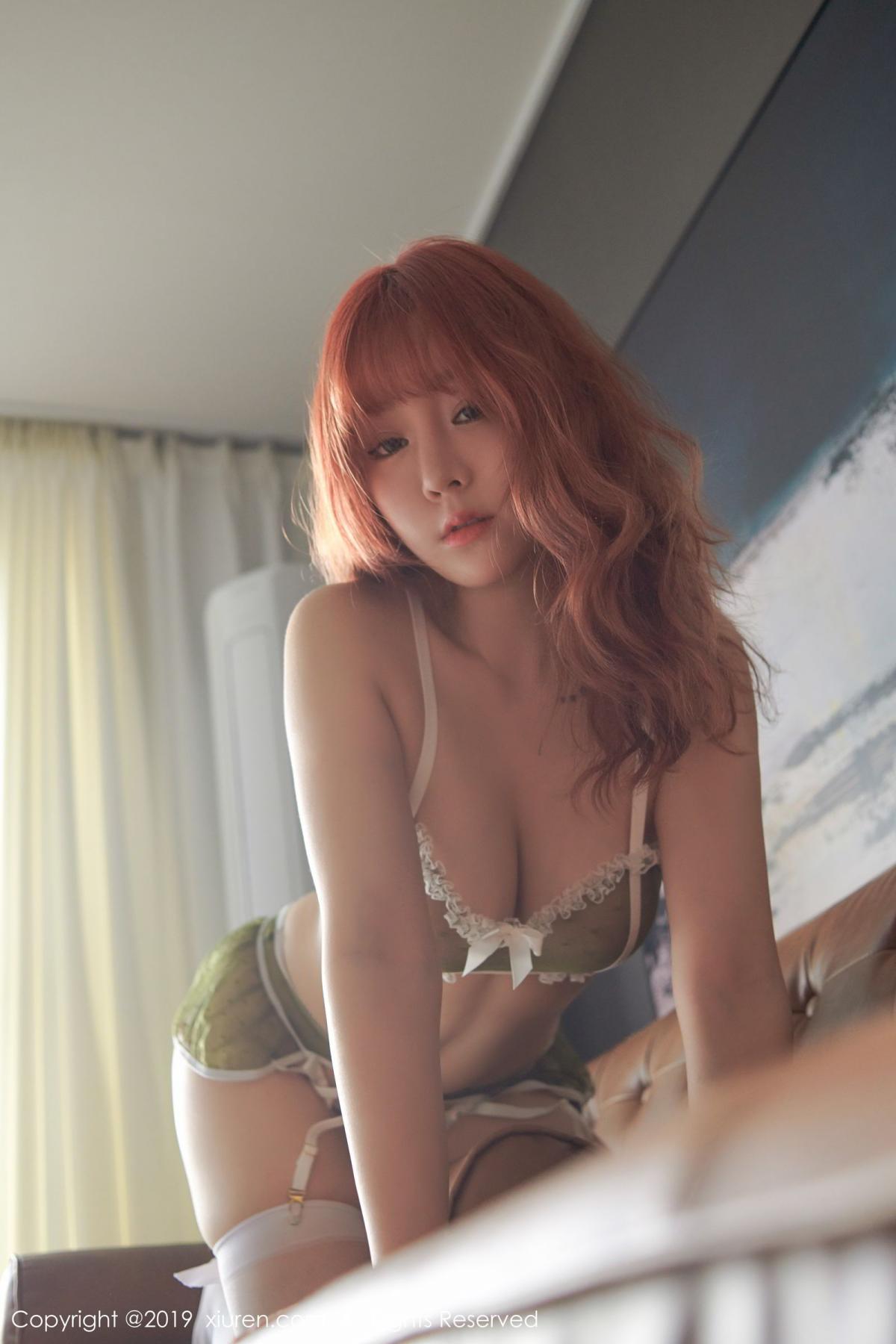 [XiuRen] Vol.1536 Wang Yu Chun 42P, Black Silk, Underwear, Wang Yu Chun, Xiuren