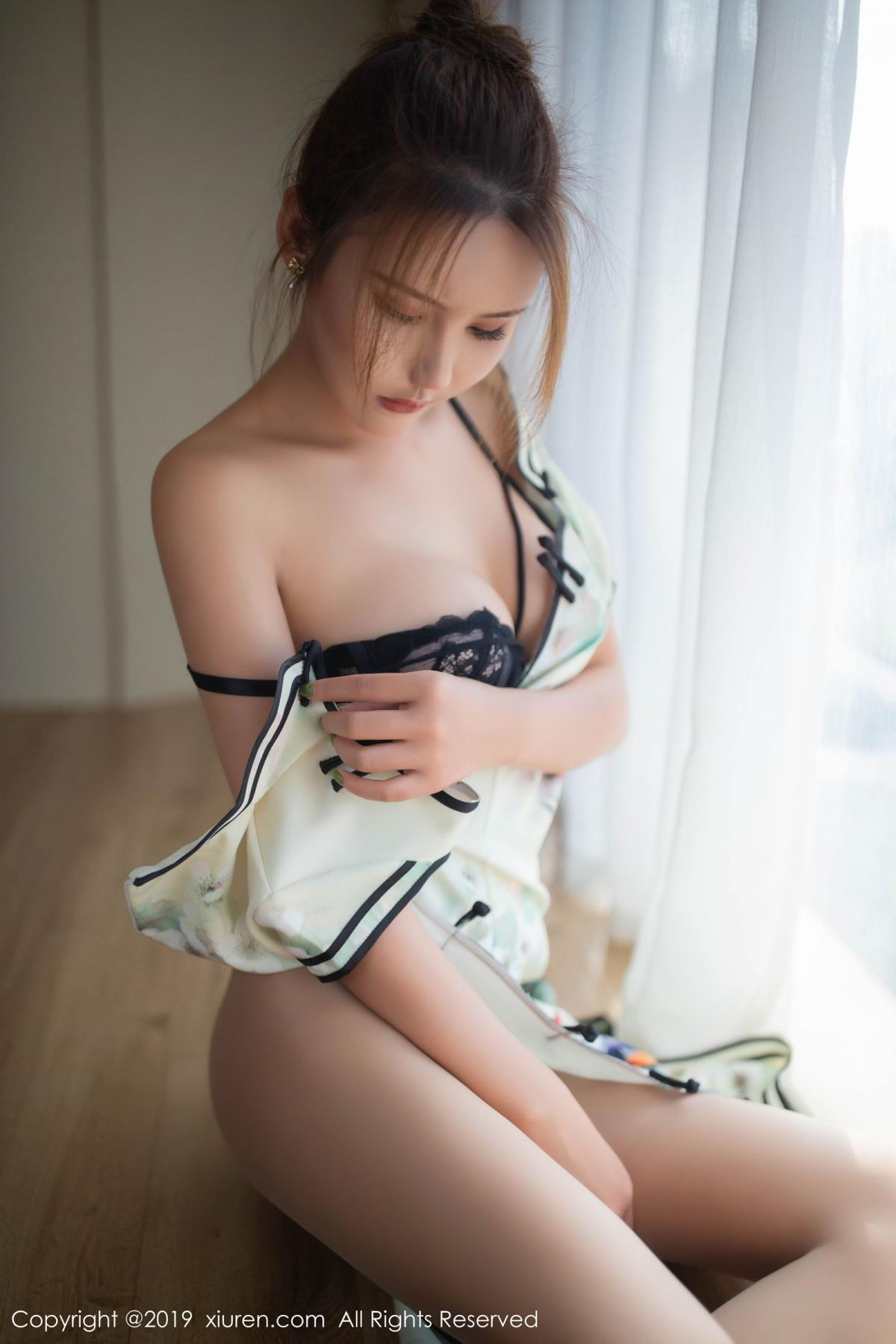 [XiuRen] Vol.1542 Solo Yi Fei 1P, Cheongsam, Solo Yi Fei, Tall, Underwear, Xiuren