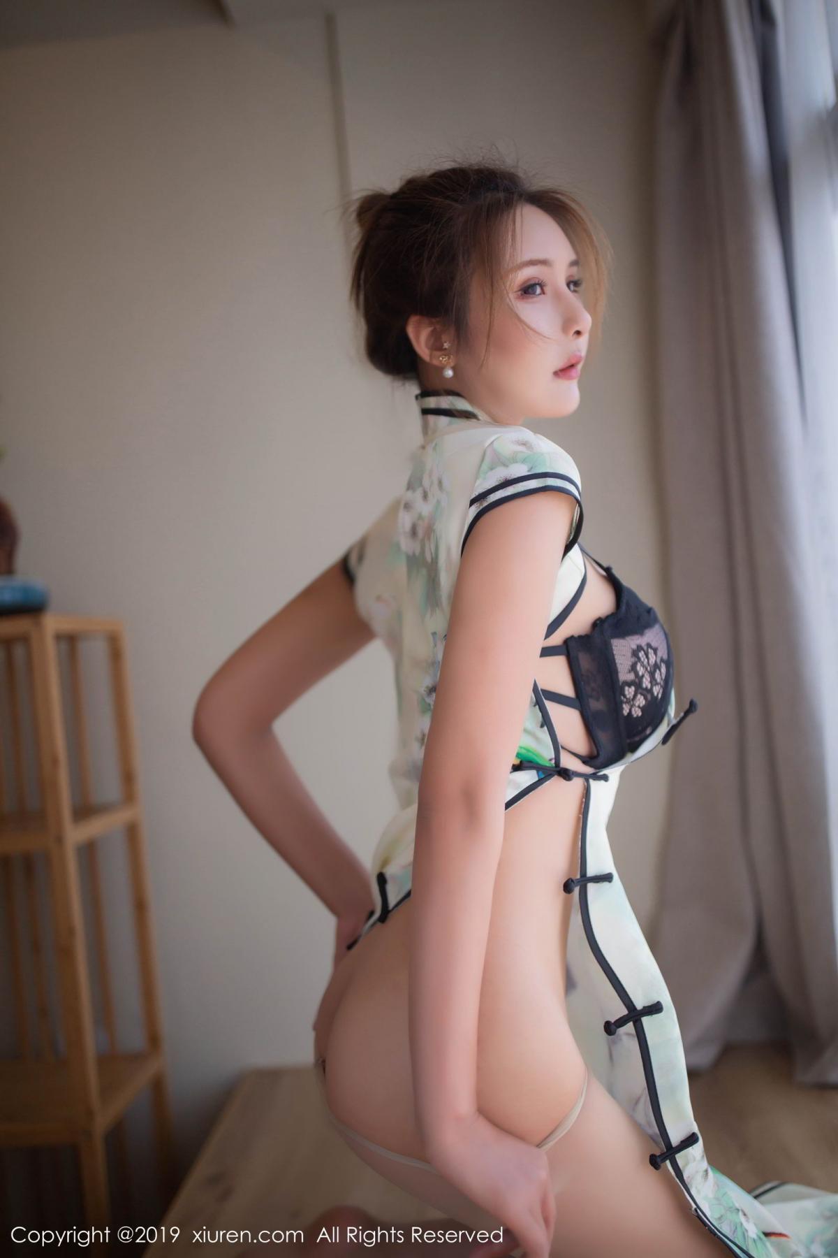 [XiuRen] Vol.1542 Solo Yi Fei 26P, Cheongsam, Solo Yi Fei, Tall, Underwear, Xiuren