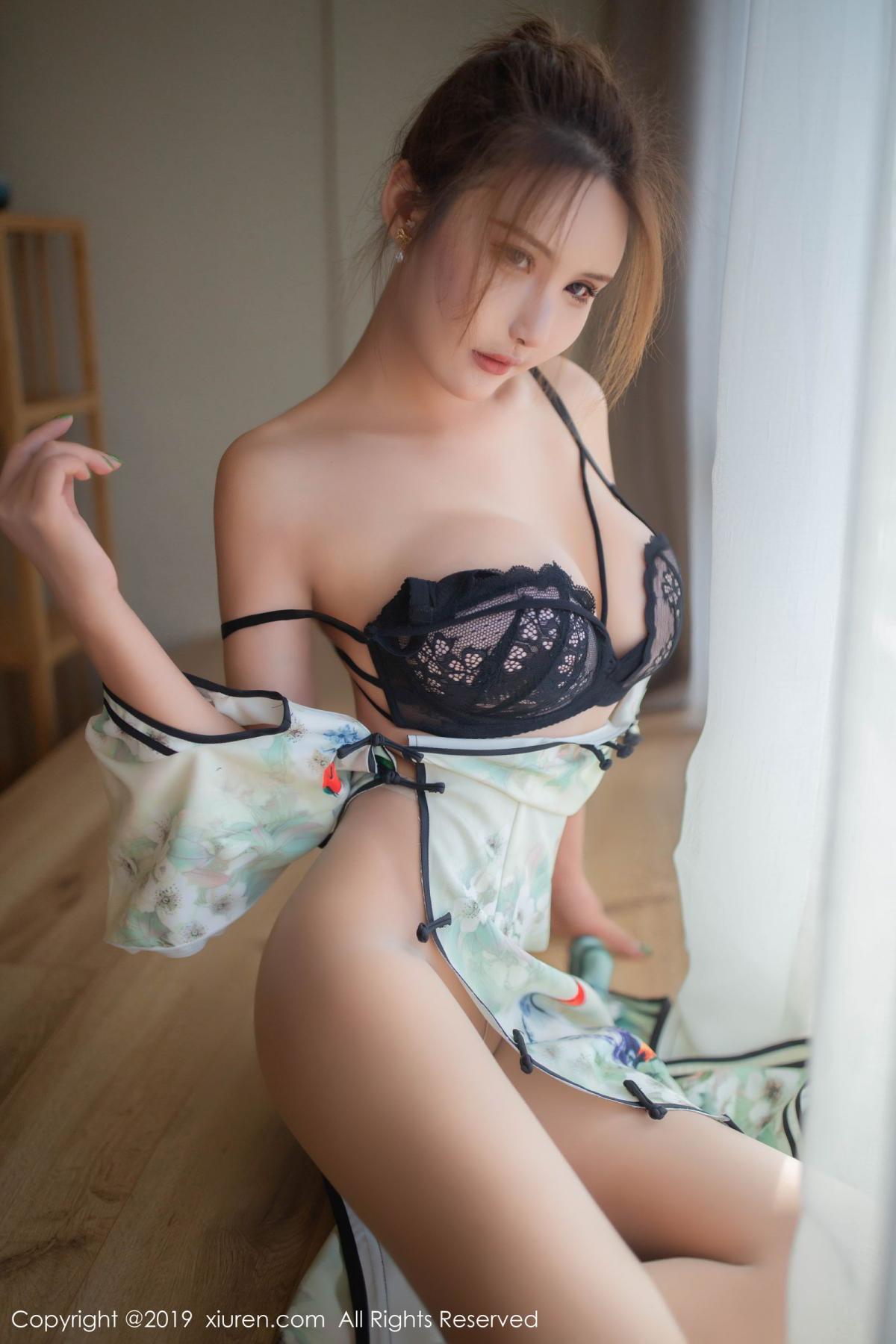 [XiuRen] Vol.1542 Solo Yi Fei 33P, Cheongsam, Solo Yi Fei, Tall, Underwear, Xiuren