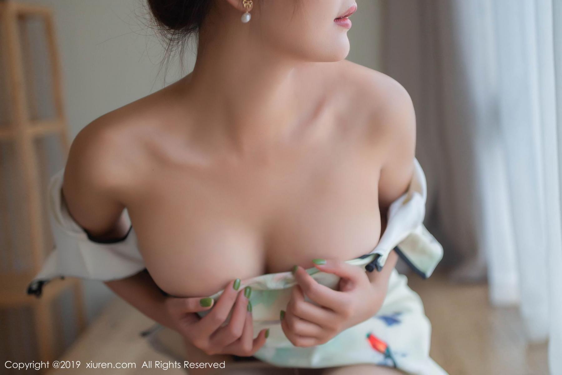 [XiuRen] Vol.1542 Solo Yi Fei 40P, Cheongsam, Solo Yi Fei, Tall, Underwear, Xiuren