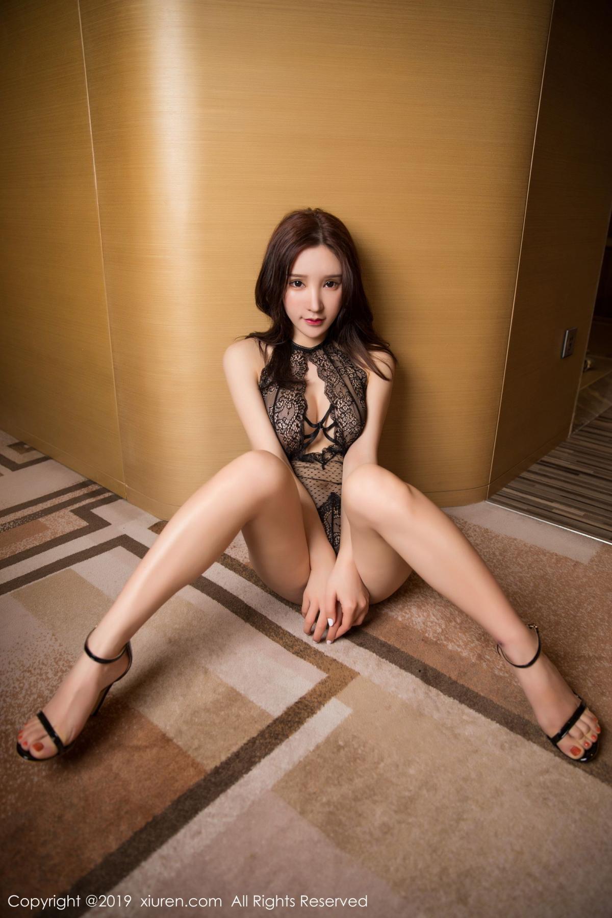 [XiuRen] Vol.1546 Zhou Yu Xi 23P, Black Silk, Tall, Xiuren, Zhou Yu Xi