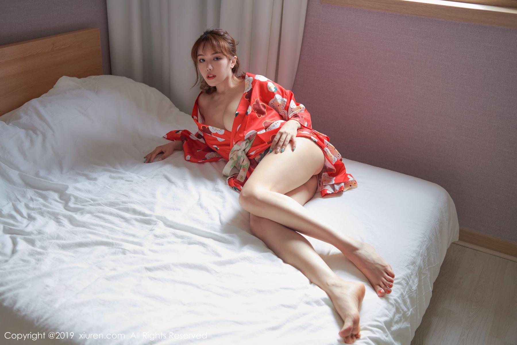 [XiuRen] Vol.1549 Huang Le Ran 11P, Huang Le Ran, Kimono, Sexy, Xiuren