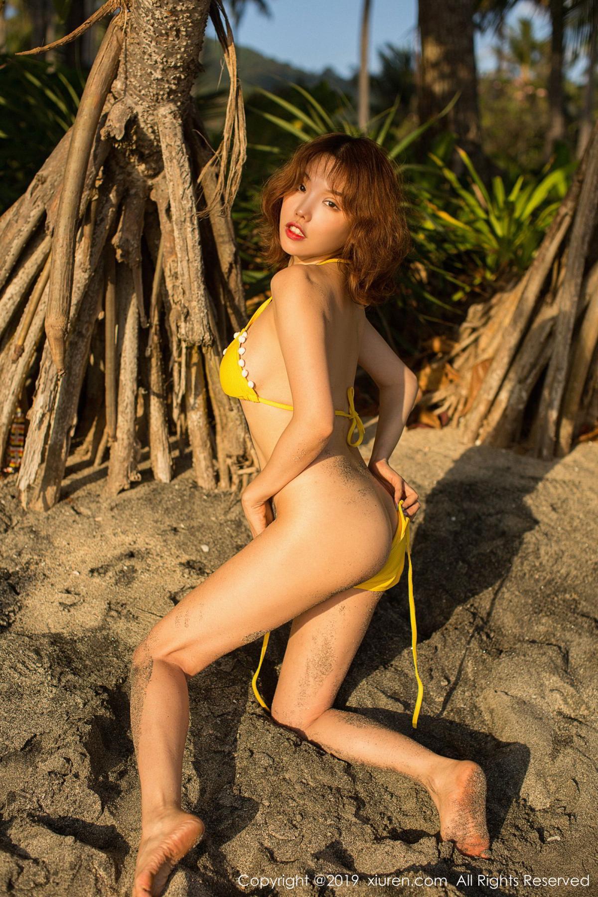 [XiuRen] Vol.1551 Huang Le Ran 18P, Beach, Bikini, Huang Le Ran, Xiuren