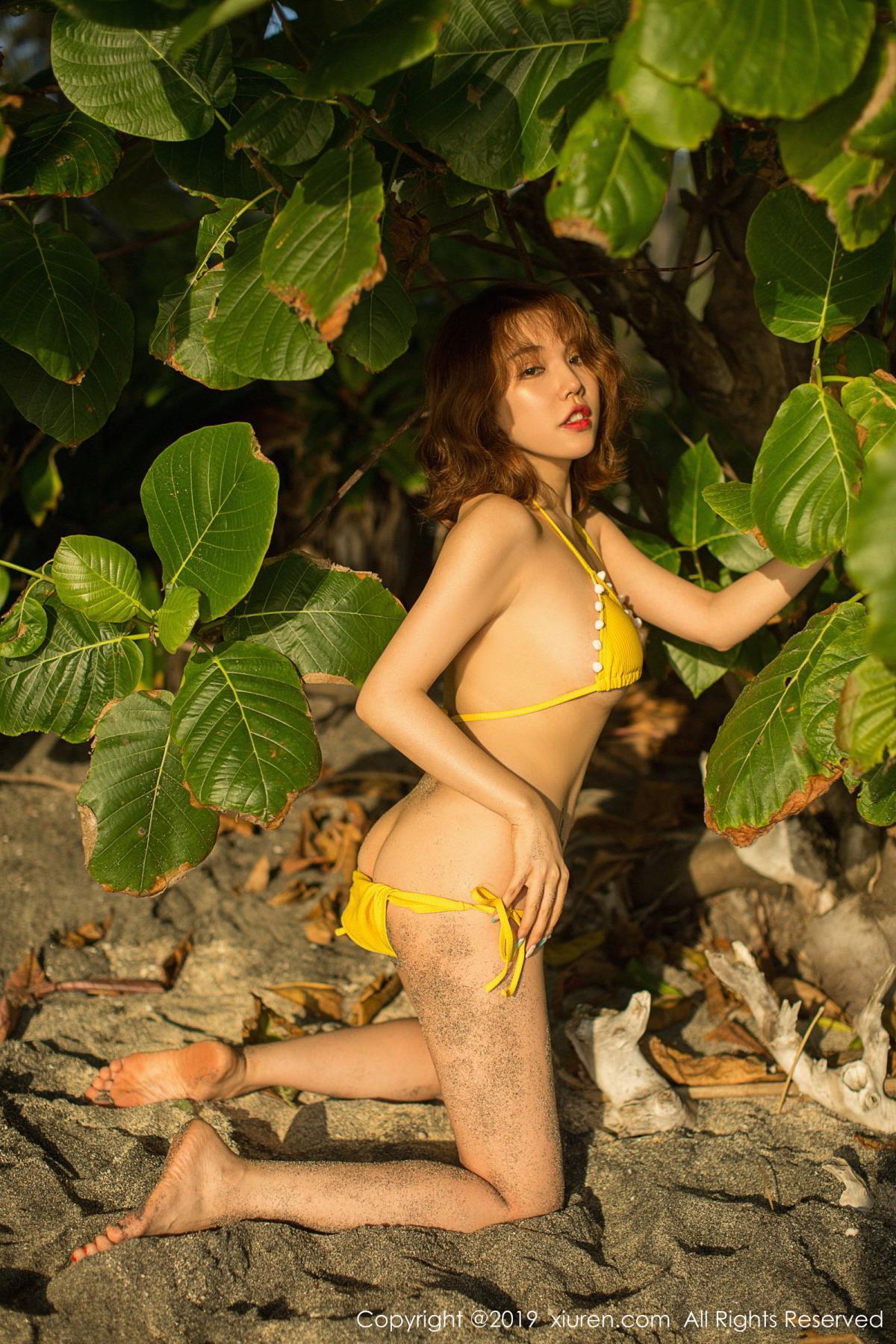 [XiuRen] Vol.1551 Huang Le Ran 33P, Beach, Bikini, Huang Le Ran, Xiuren
