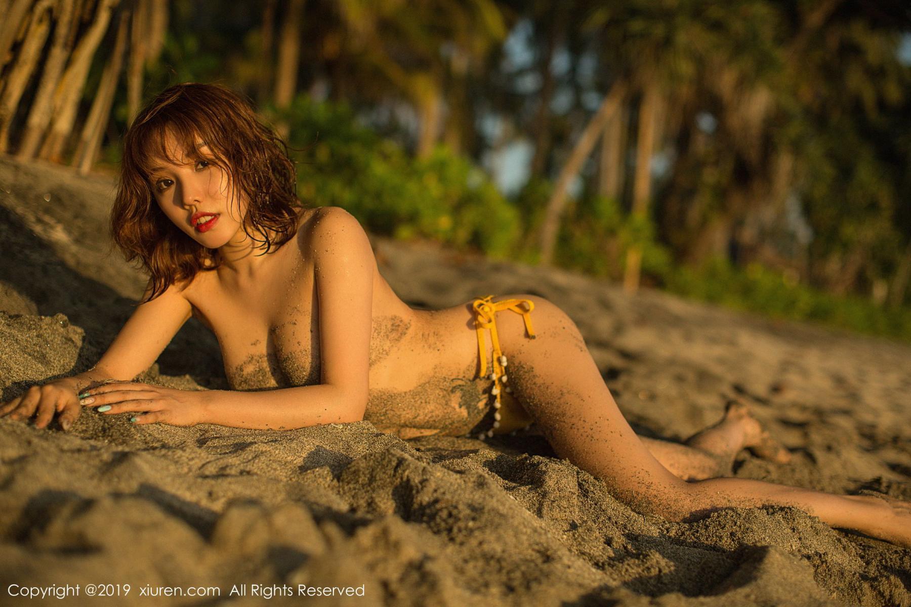 [XiuRen] Vol.1551 Huang Le Ran 49P, Beach, Bikini, Huang Le Ran, Xiuren