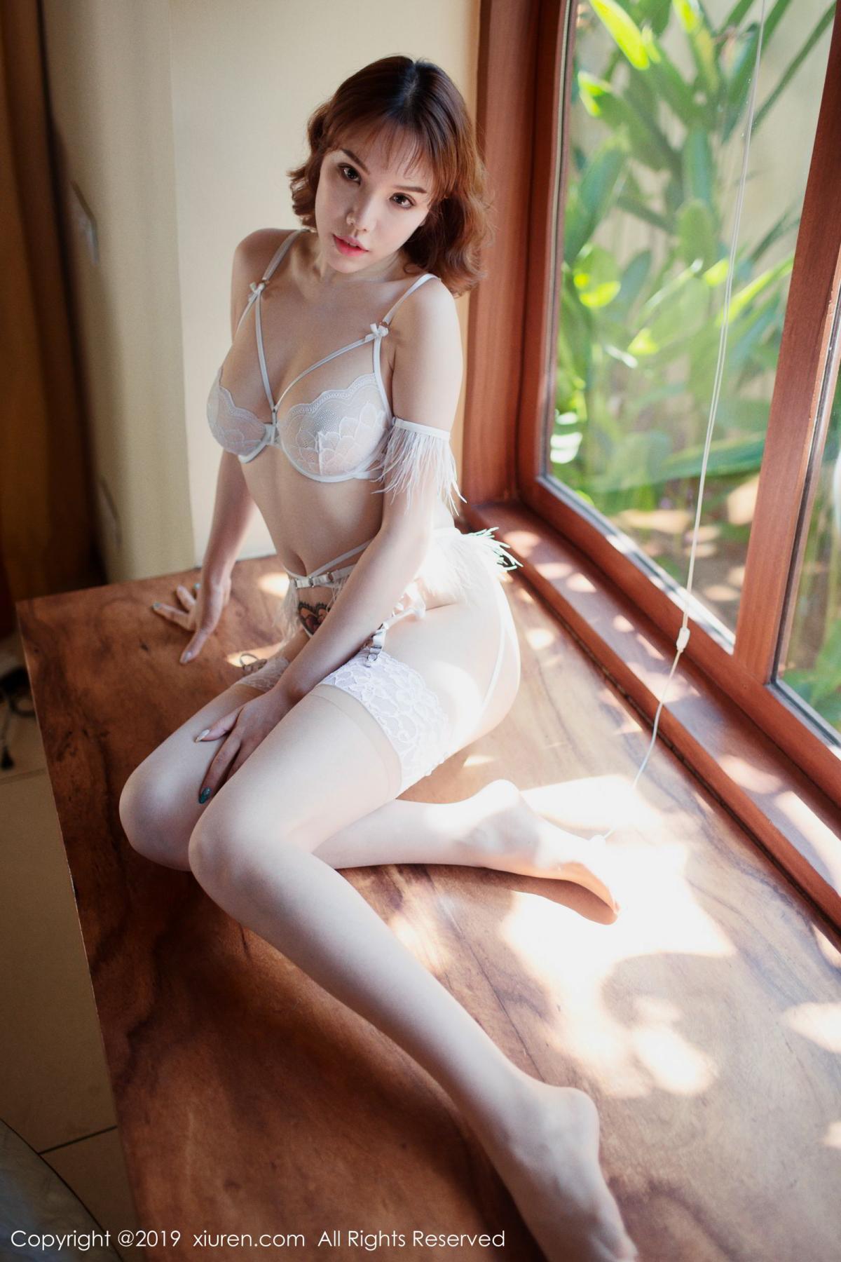 [XiuRen] Vol.1562 Huang Le Ran 8P, Huang Le Ran, Underwear, Xiuren
