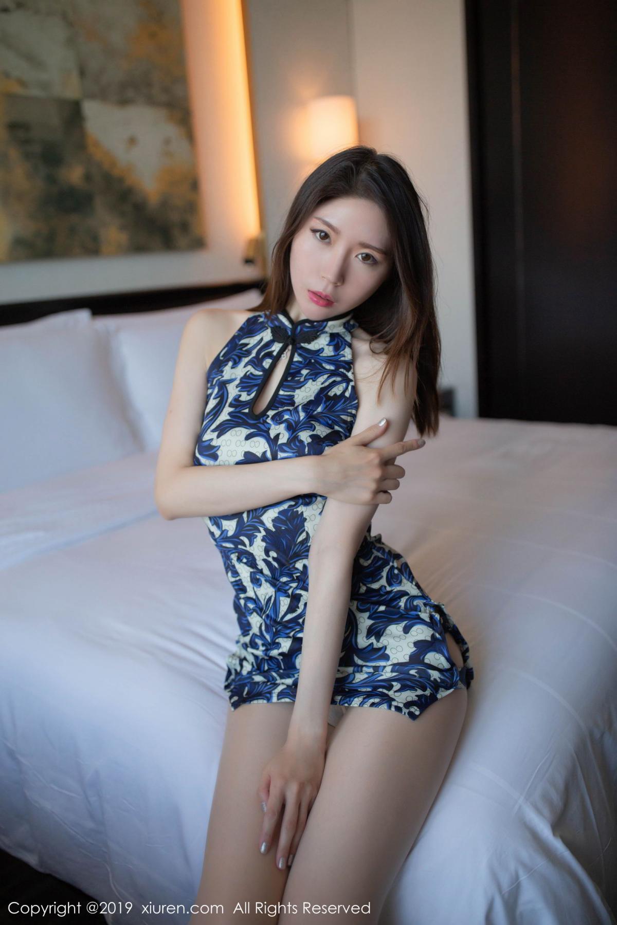 [XiuRen] Vol.1564 Meng Xin Yue 17P, Cheongsam, Meng Xin Yue, Tall, Xiuren