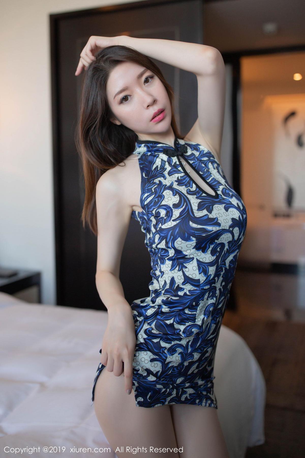 [XiuRen] Vol.1564 Meng Xin Yue 21P, Cheongsam, Meng Xin Yue, Tall, Xiuren