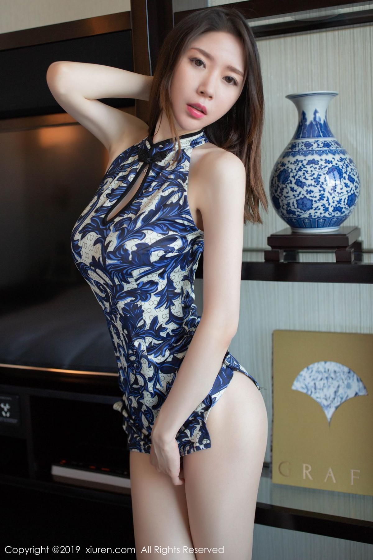 [XiuRen] Vol.1564 Meng Xin Yue 26P, Cheongsam, Meng Xin Yue, Tall, Xiuren