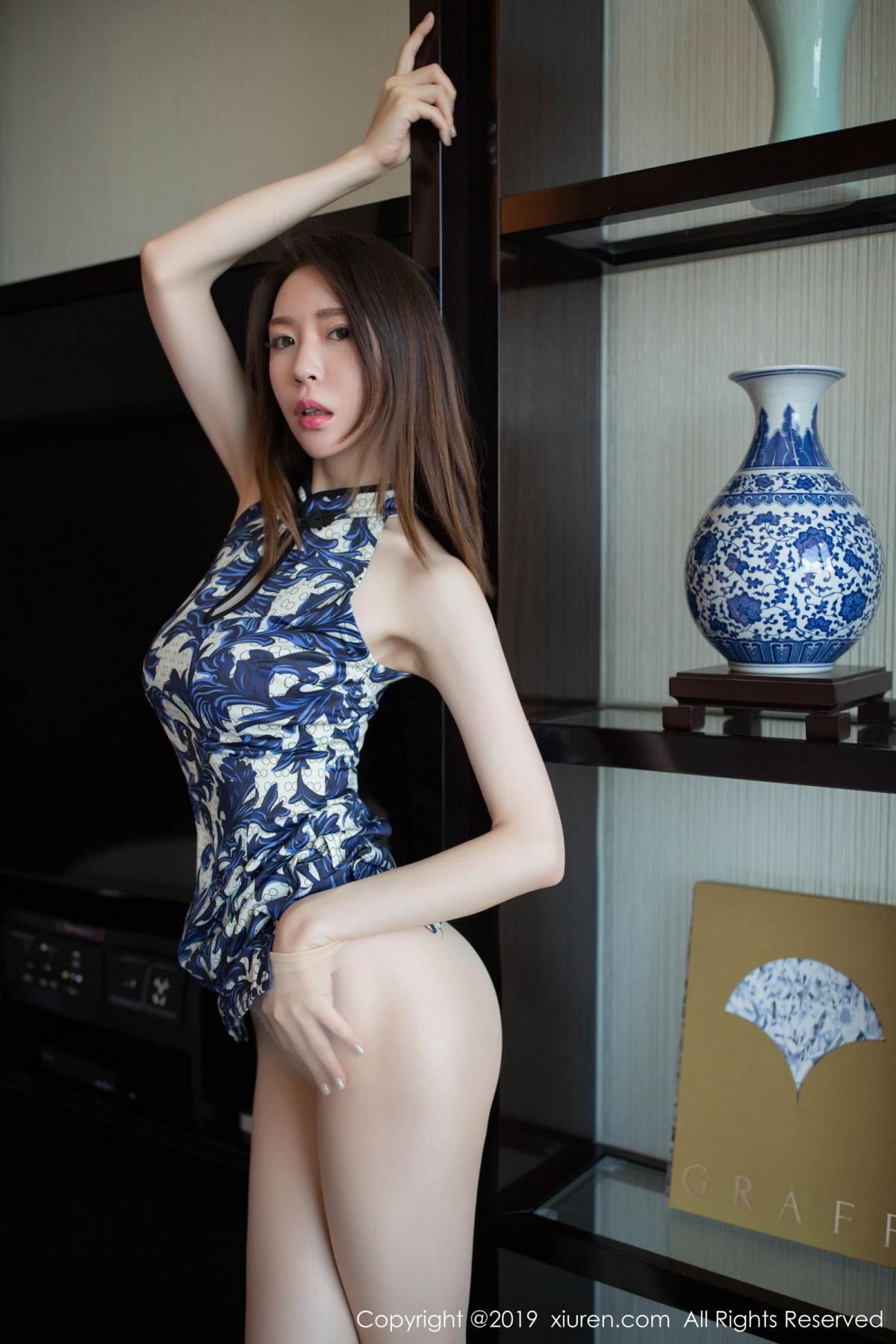 [XiuRen] Vol.1564 Meng Xin Yue 32P, Cheongsam, Meng Xin Yue, Tall, Xiuren