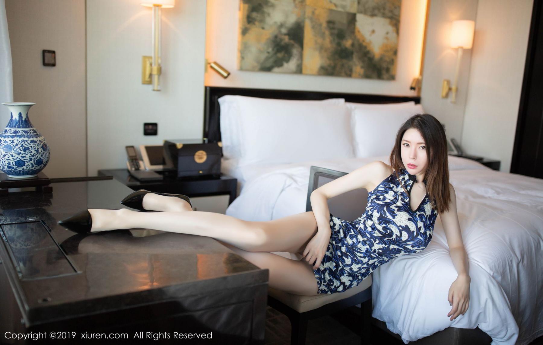 [XiuRen] Vol.1564 Meng Xin Yue 37P, Cheongsam, Meng Xin Yue, Tall, Xiuren
