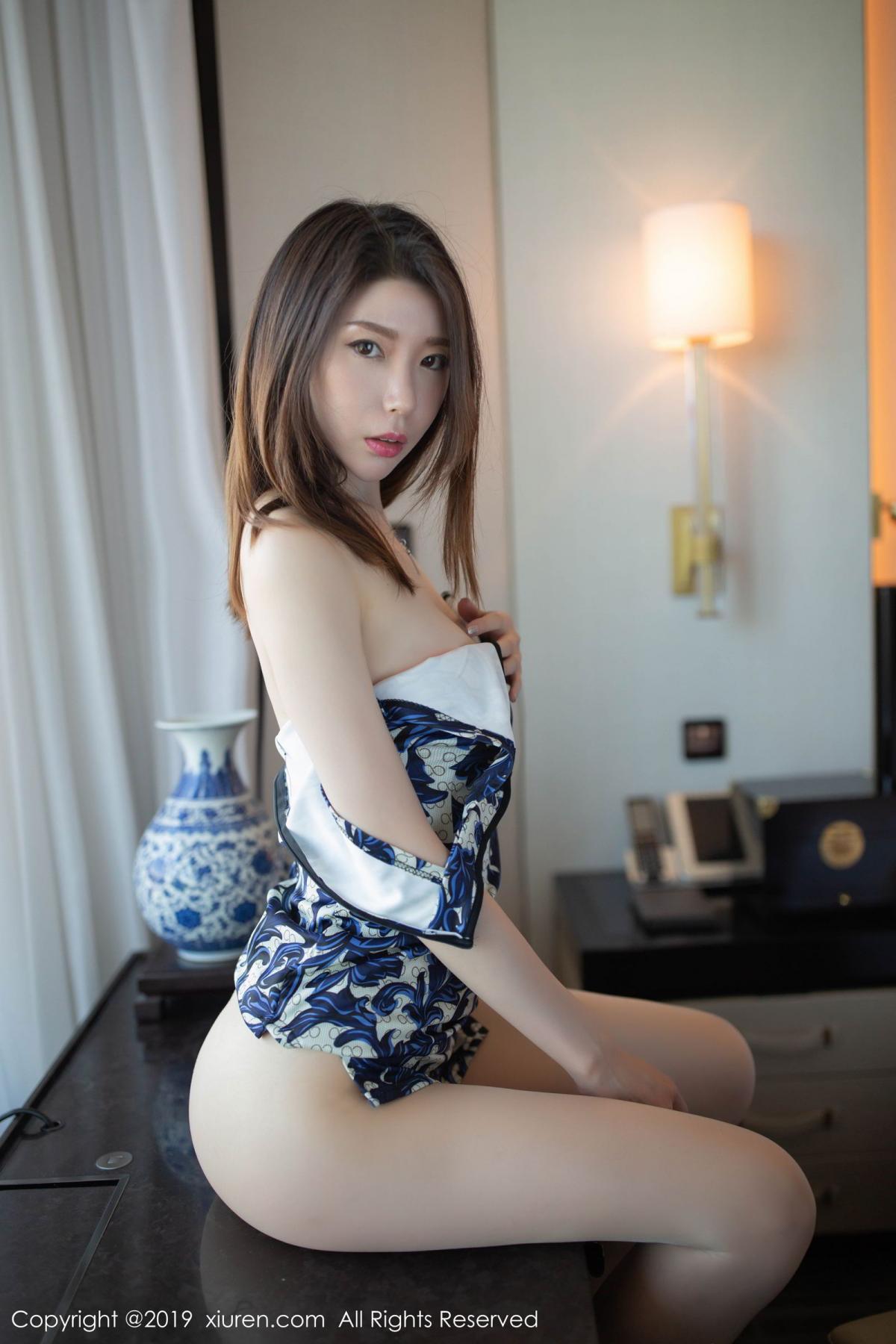 [XiuRen] Vol.1564 Meng Xin Yue 43P, Cheongsam, Meng Xin Yue, Tall, Xiuren