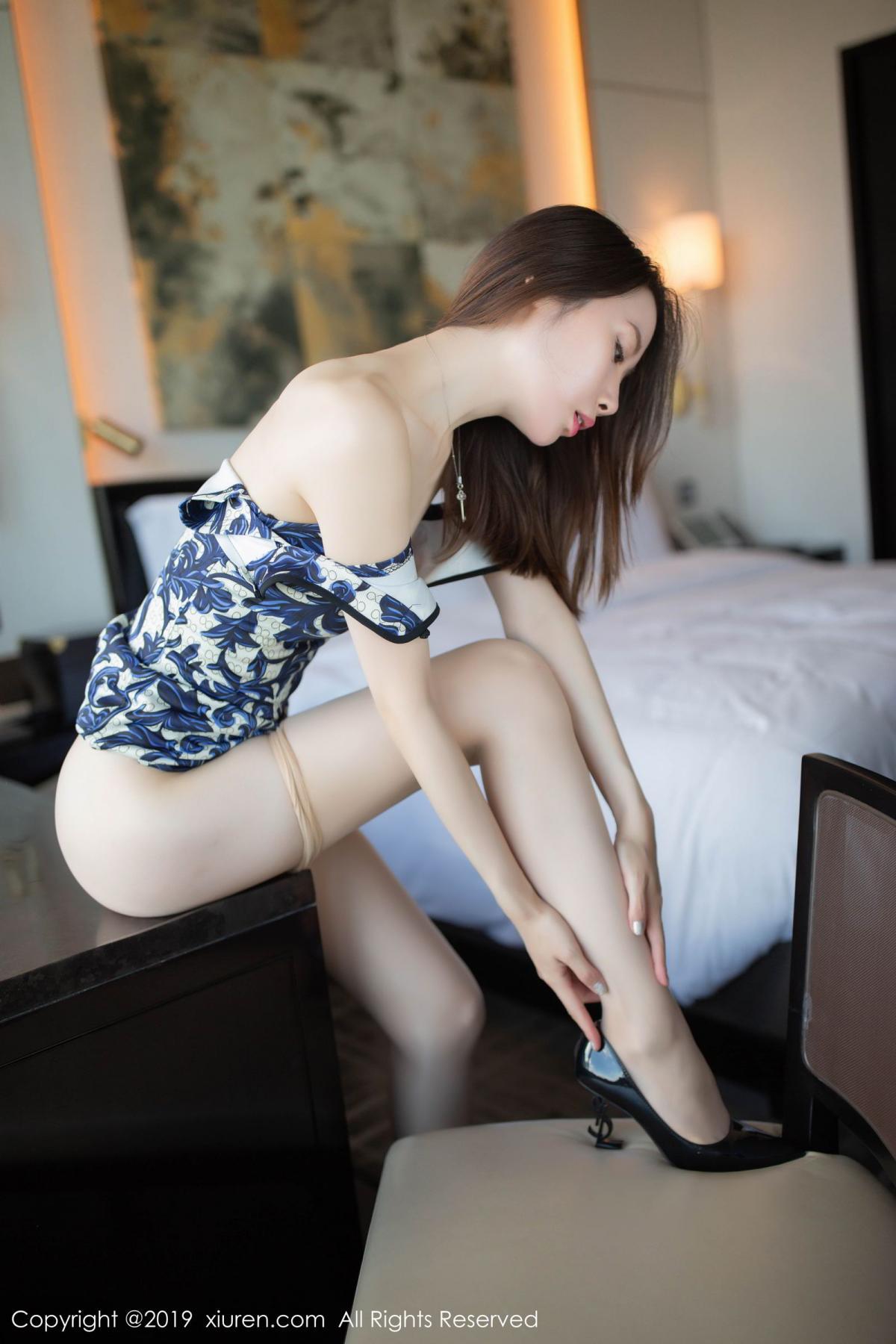 [XiuRen] Vol.1564 Meng Xin Yue 51P, Cheongsam, Meng Xin Yue, Tall, Xiuren