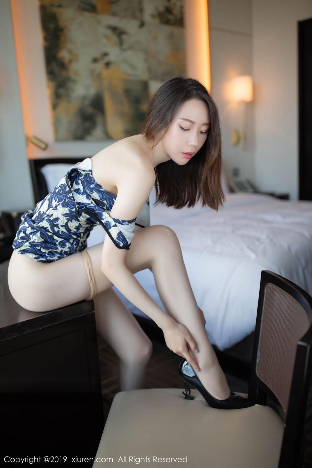 [XiuRen] Vol.1564 Meng Xin Yue 52P, Cheongsam, Meng Xin Yue, Tall, Xiuren