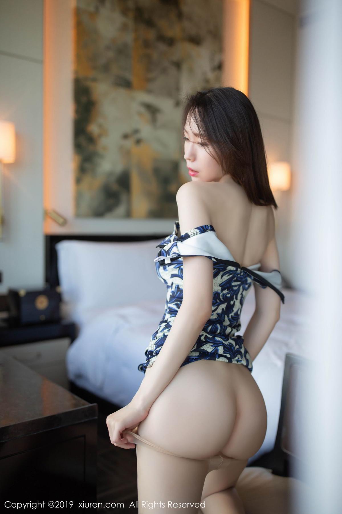 [XiuRen] Vol.1564 Meng Xin Yue 53P, Cheongsam, Meng Xin Yue, Tall, Xiuren