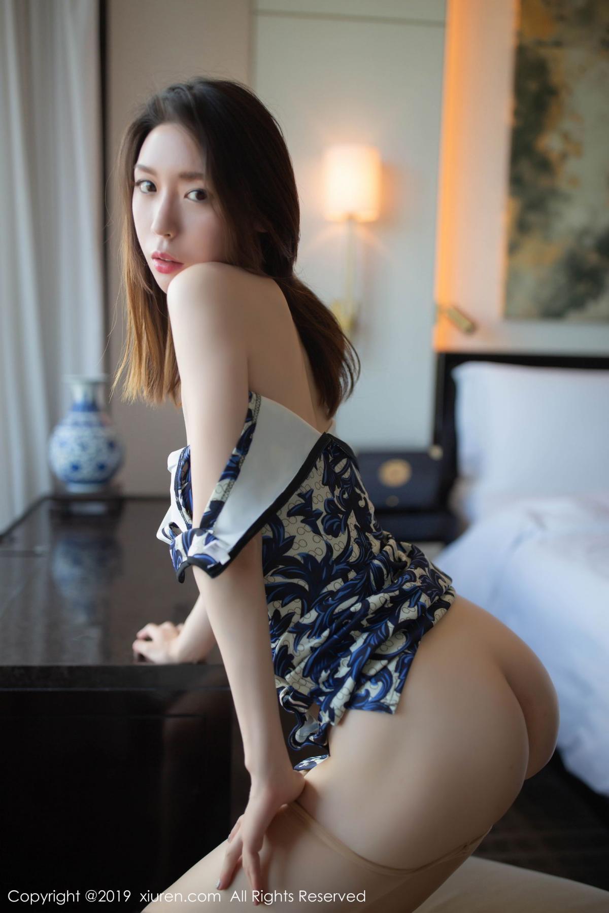 [XiuRen] Vol.1564 Meng Xin Yue 54P, Cheongsam, Meng Xin Yue, Tall, Xiuren