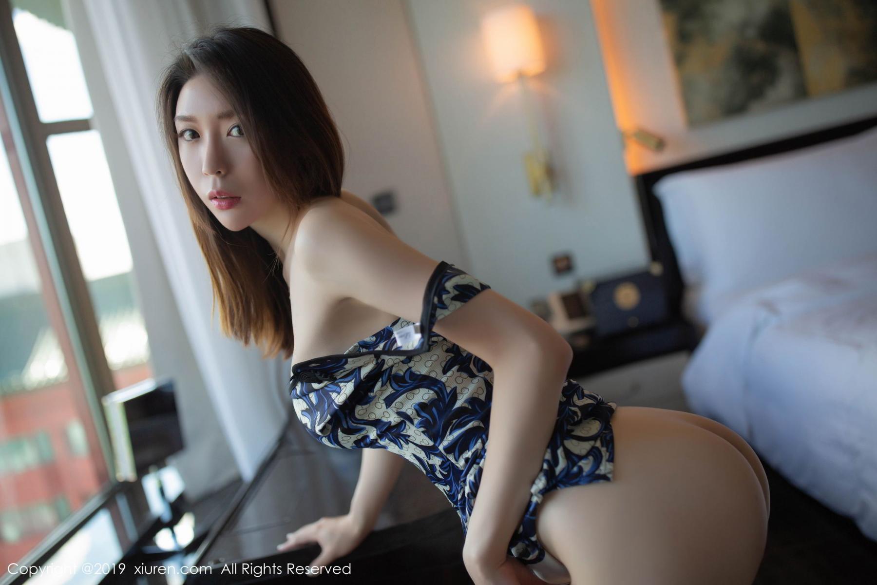 [XiuRen] Vol.1564 Meng Xin Yue 55P, Cheongsam, Meng Xin Yue, Tall, Xiuren