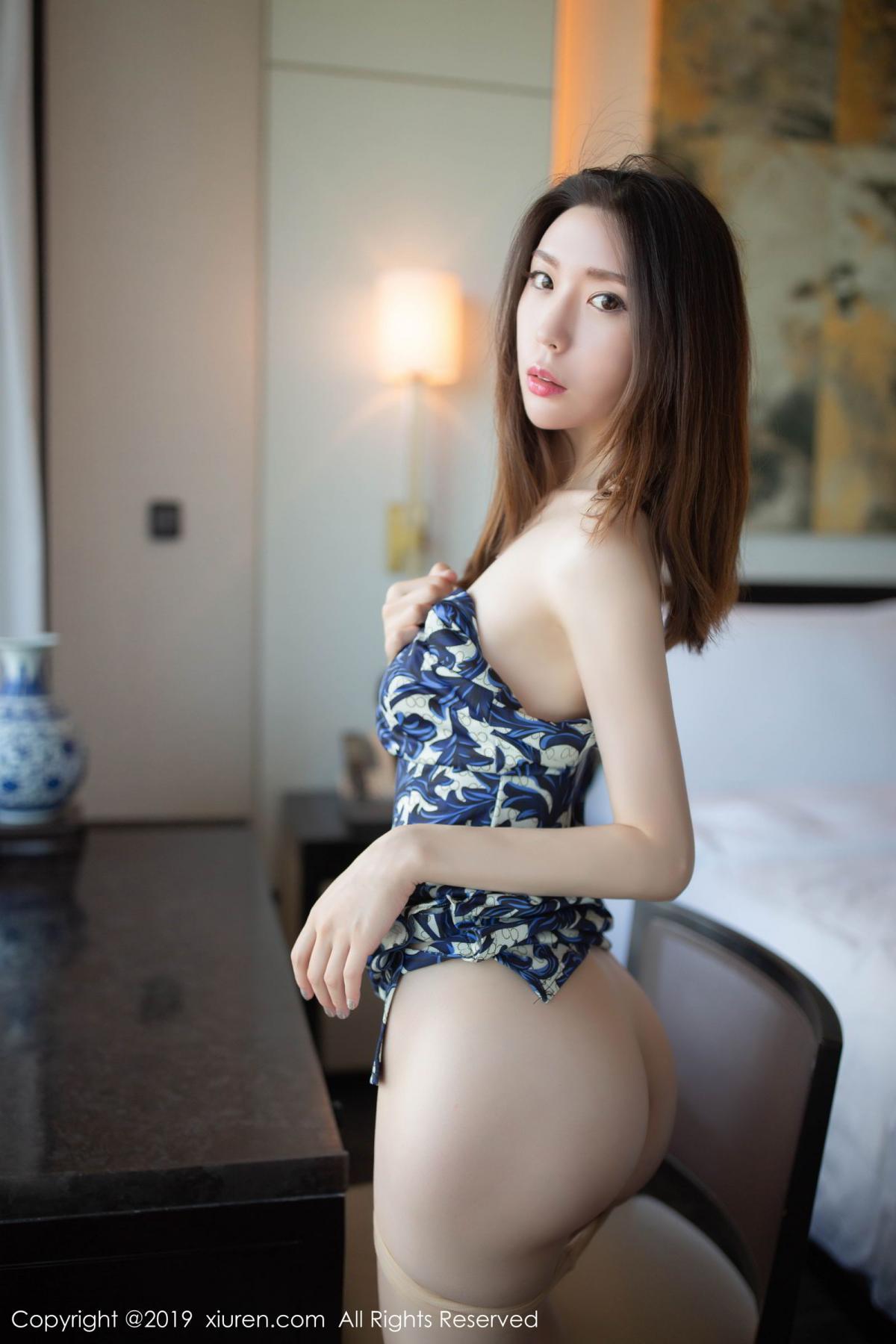[XiuRen] Vol.1564 Meng Xin Yue 57P, Cheongsam, Meng Xin Yue, Tall, Xiuren