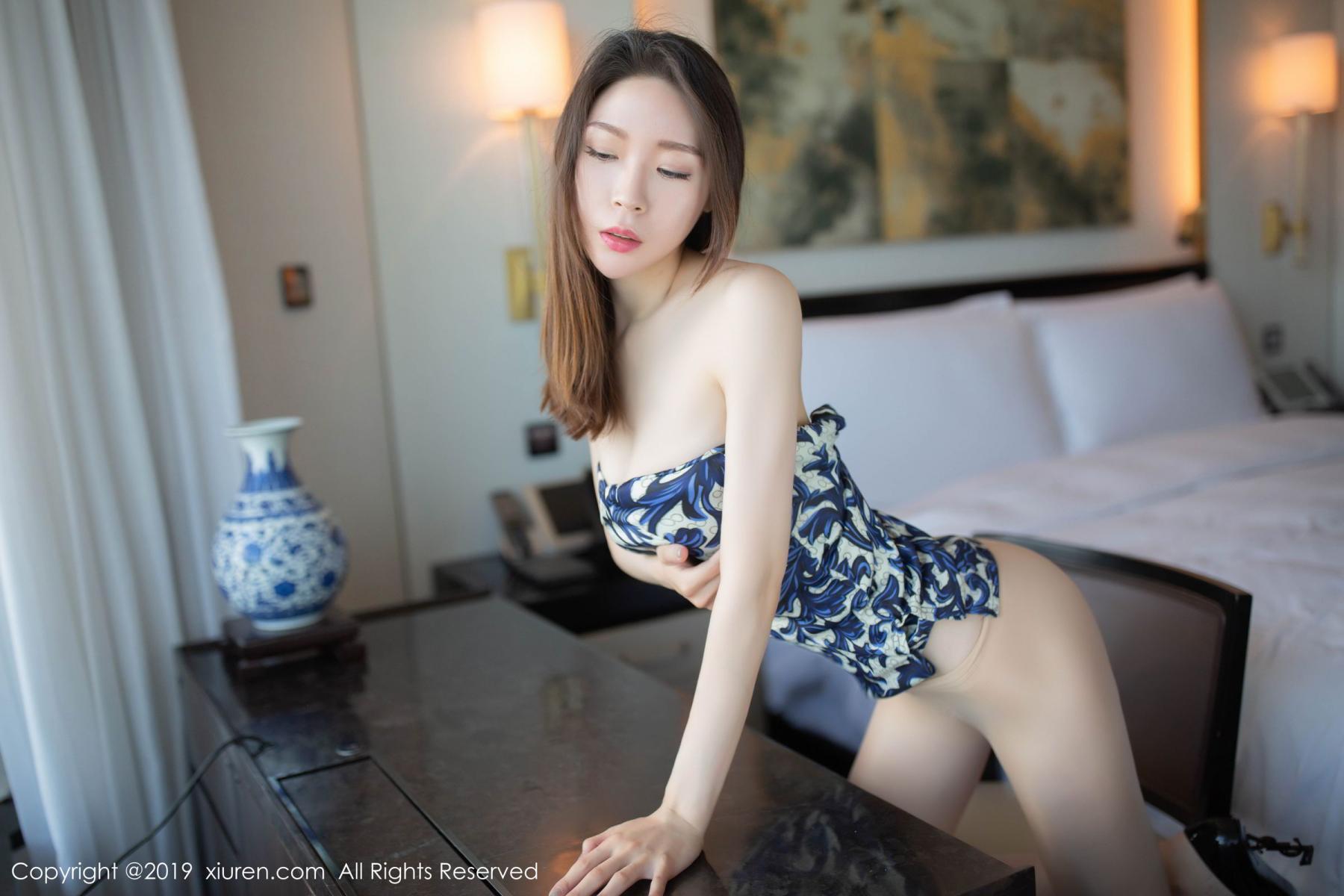 [XiuRen] Vol.1564 Meng Xin Yue 58P, Cheongsam, Meng Xin Yue, Tall, Xiuren