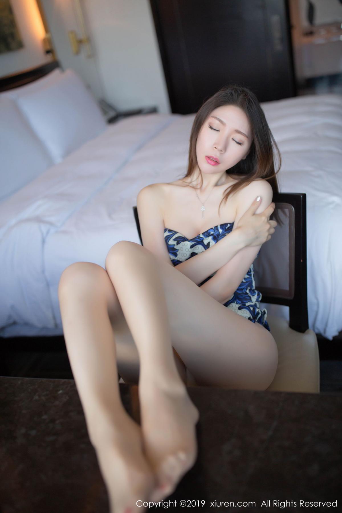 [XiuRen] Vol.1564 Meng Xin Yue 67P, Cheongsam, Meng Xin Yue, Tall, Xiuren