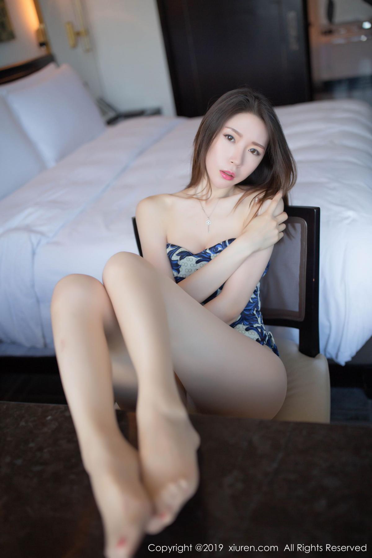 [XiuRen] Vol.1564 Meng Xin Yue 8P, Cheongsam, Meng Xin Yue, Tall, Xiuren
