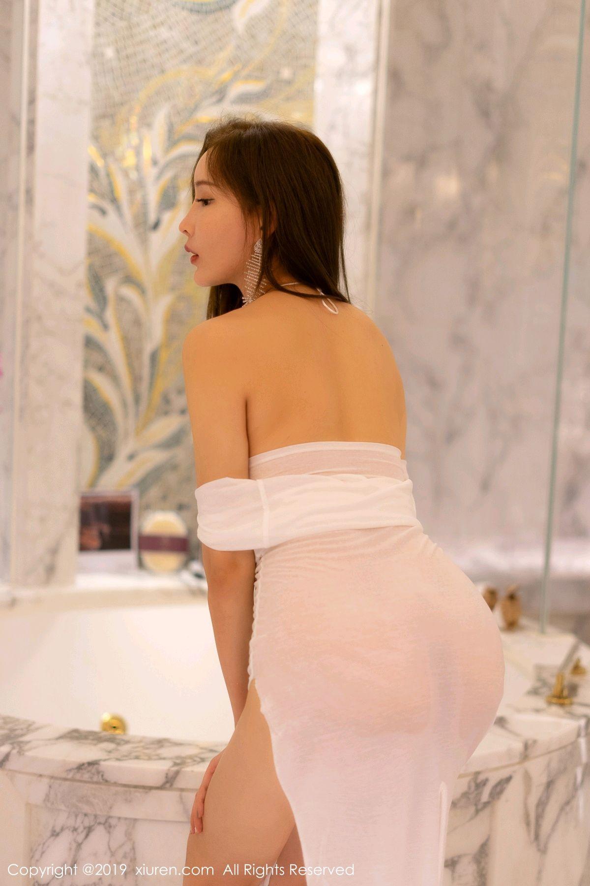 [XiuRen] Vol.1575 Zhou Yan Xi 14P, Adult, Bathroom, Mu Mu Baby, Xiuren, Zhou Yan Xi