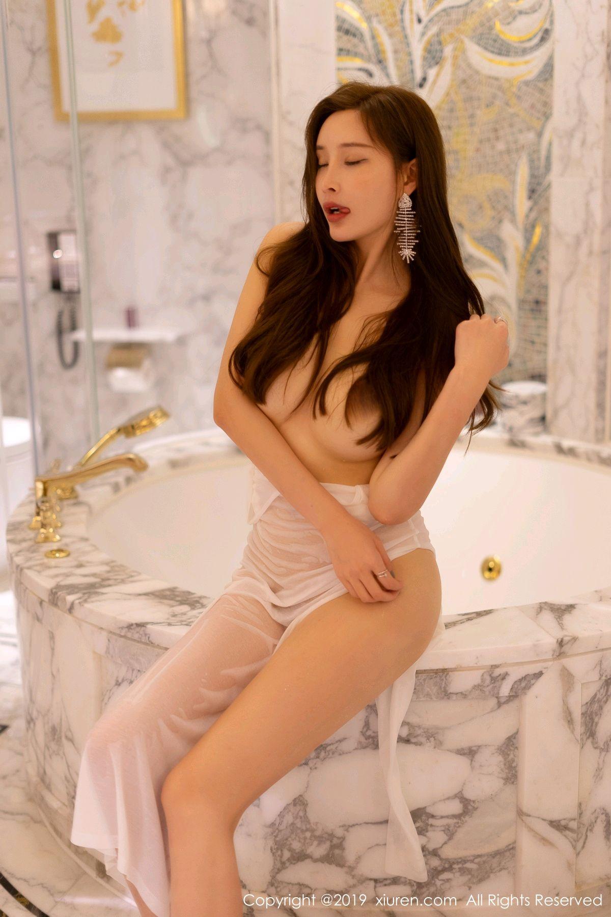 [XiuRen] Vol.1575 Zhou Yan Xi 19P, Adult, Bathroom, Mu Mu Baby, Xiuren, Zhou Yan Xi