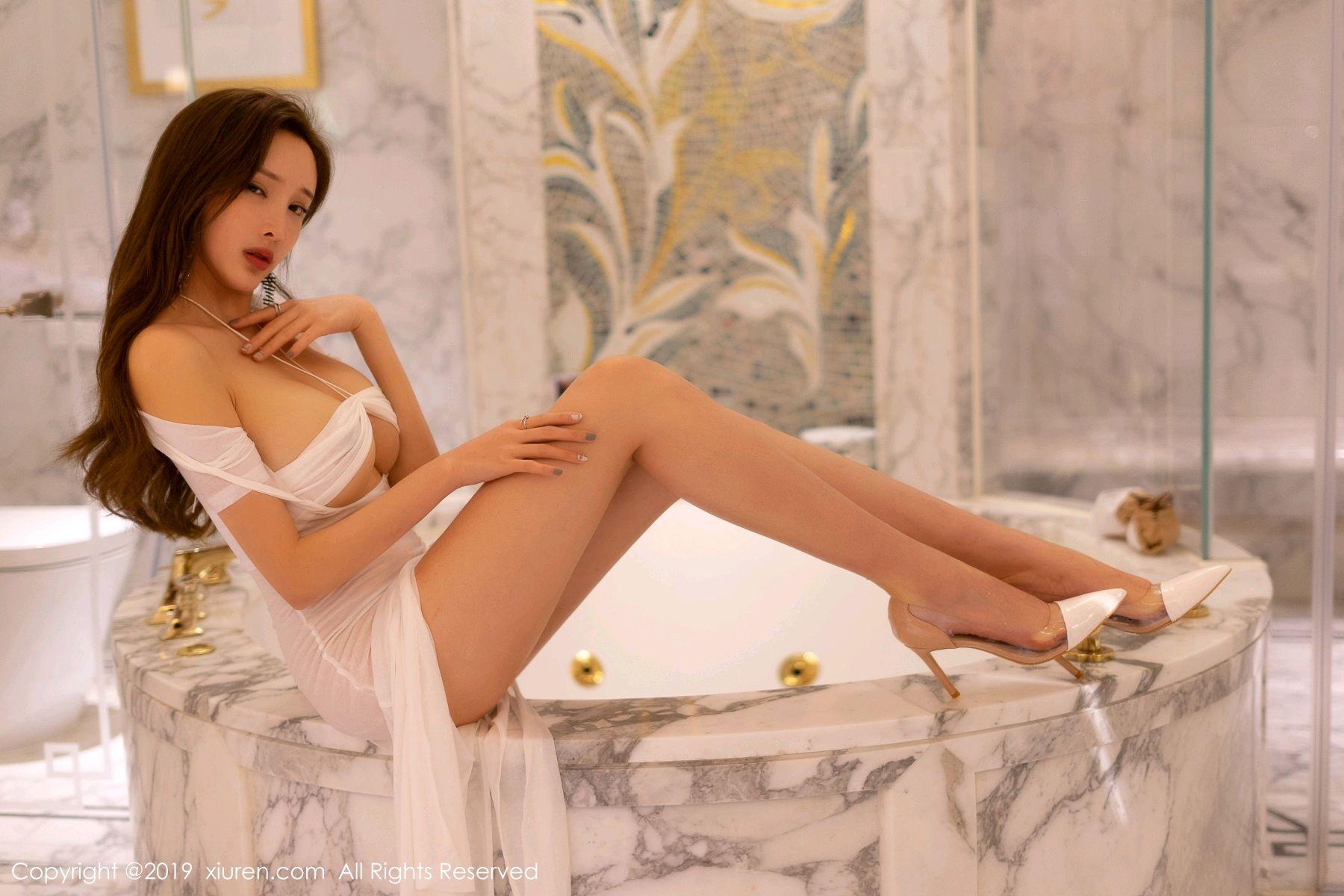 [XiuRen] Vol.1575 Zhou Yan Xi 1P, Adult, Bathroom, Mu Mu Baby, Xiuren, Zhou Yan Xi