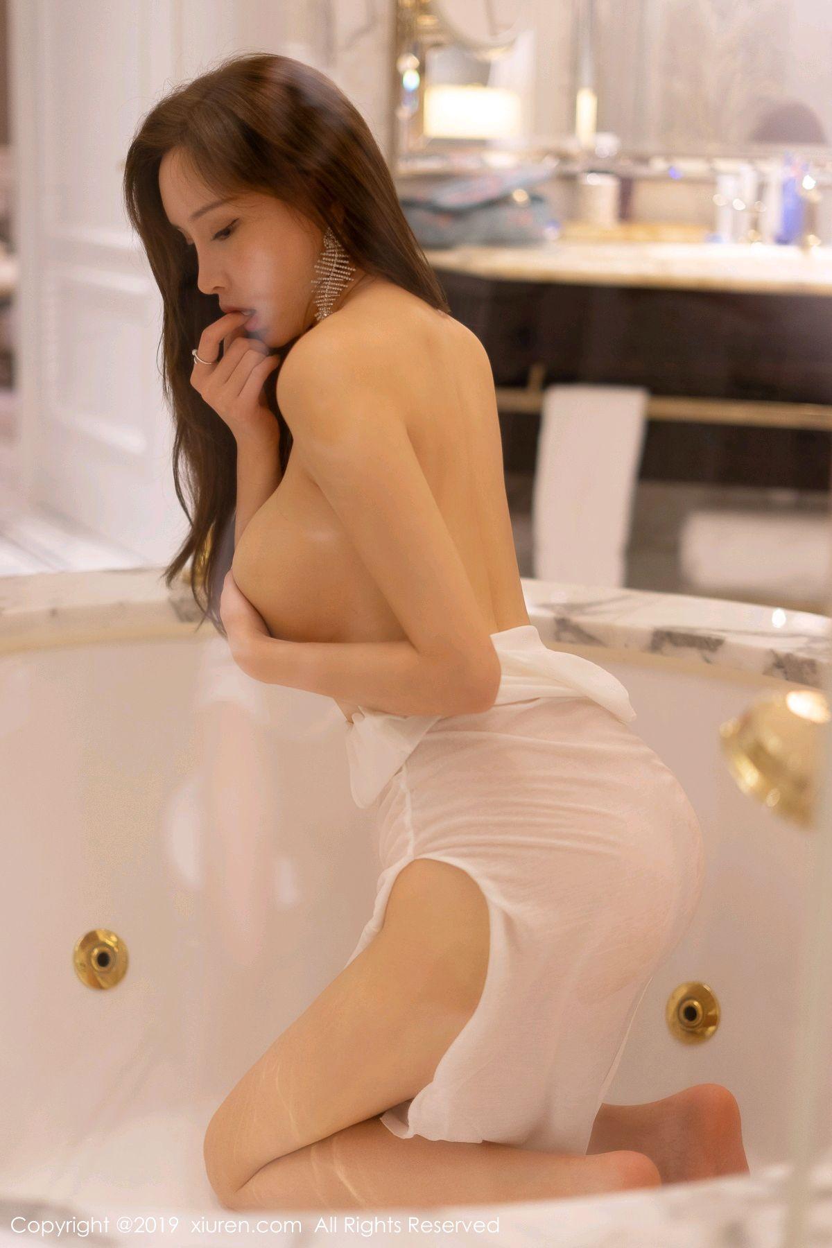 [XiuRen] Vol.1575 Zhou Yan Xi 32P, Adult, Bathroom, Mu Mu Baby, Xiuren, Zhou Yan Xi